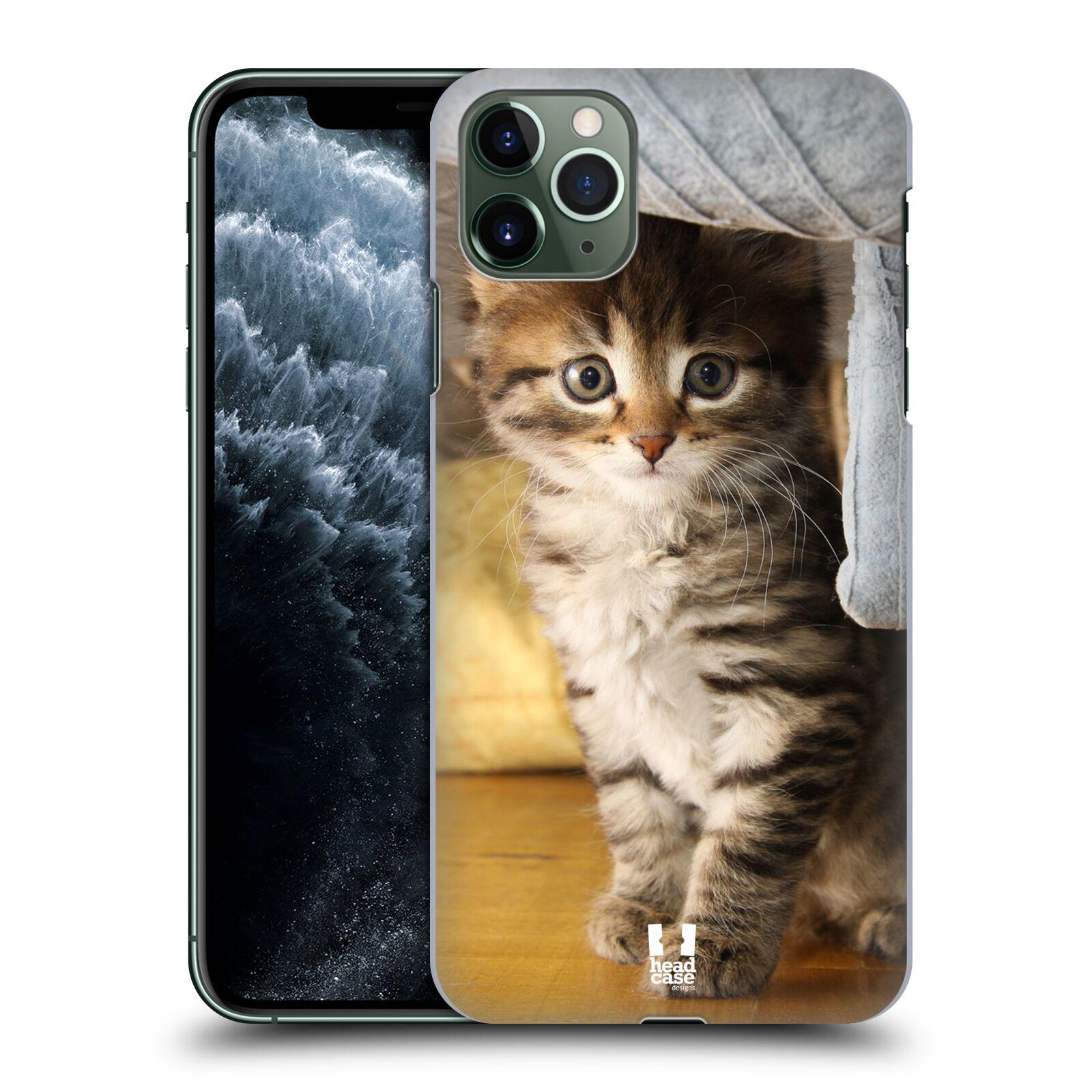 Pouzdro na mobil Apple Iphone 11 PRO MAX - HEAD CASE - vzor Kočičky koťata foto mourek