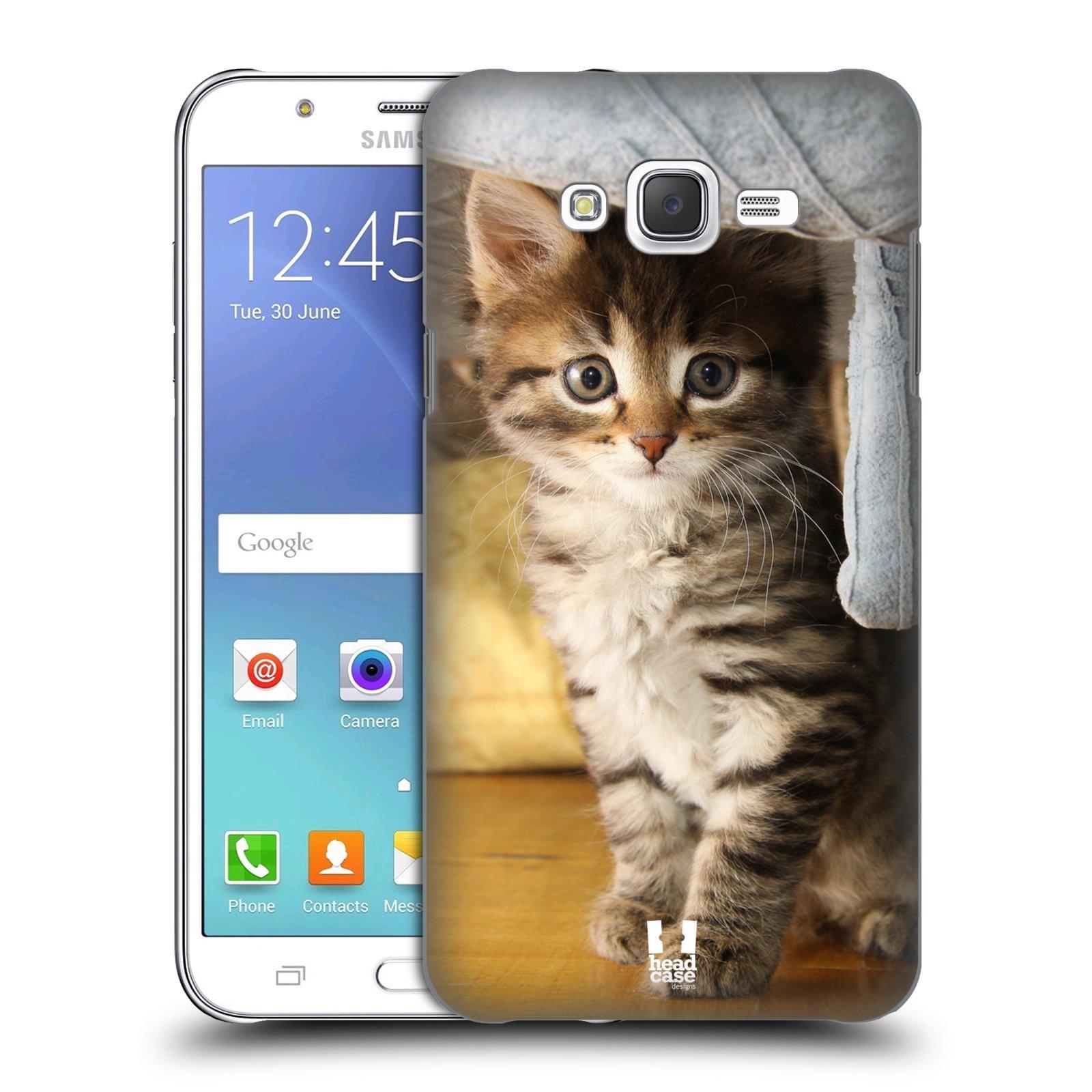 HEAD CASE plastový obal na mobil SAMSUNG Galaxy J7, J700 vzor Kočičky koťata foto mourek