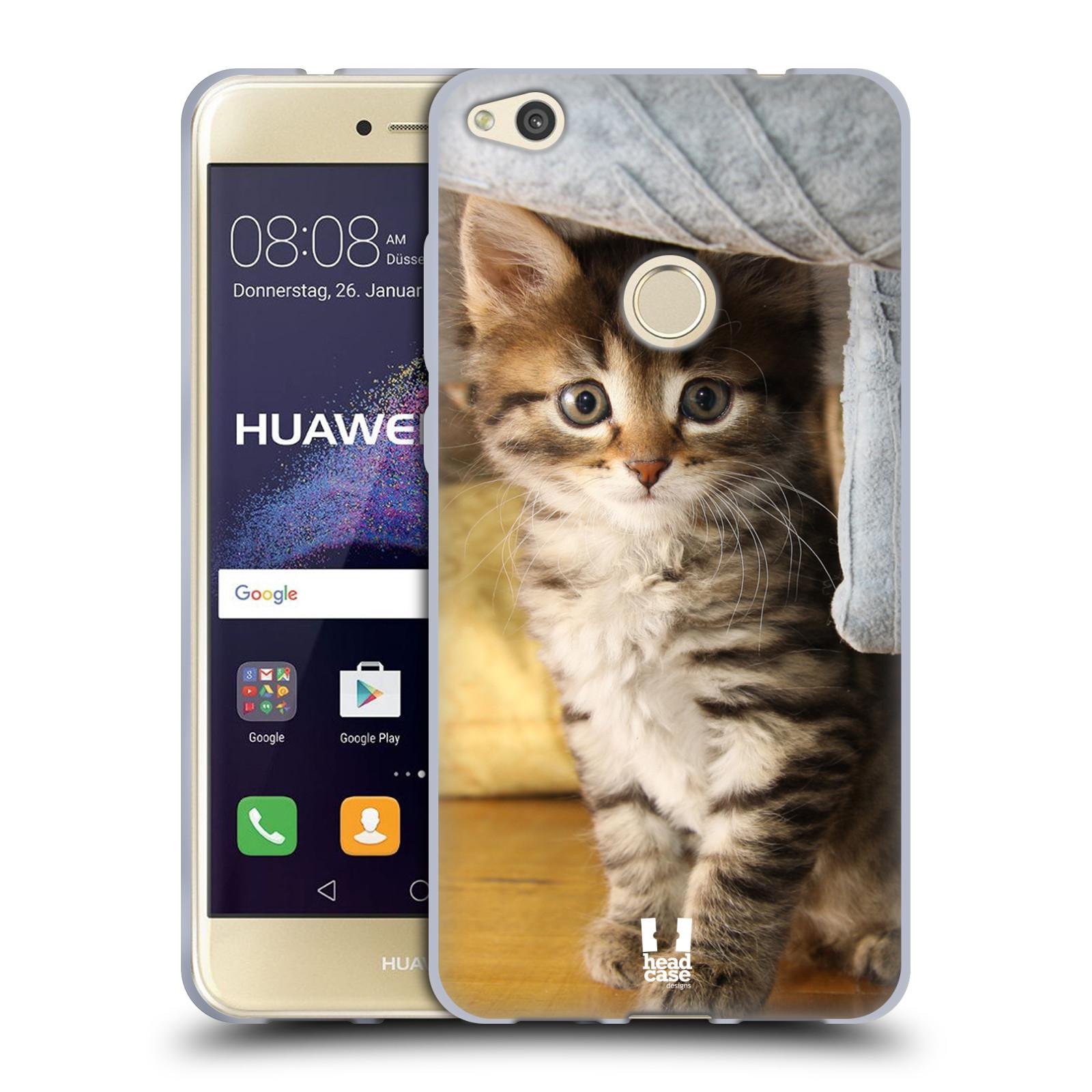 huawei p8 lite2017 custodia gatto