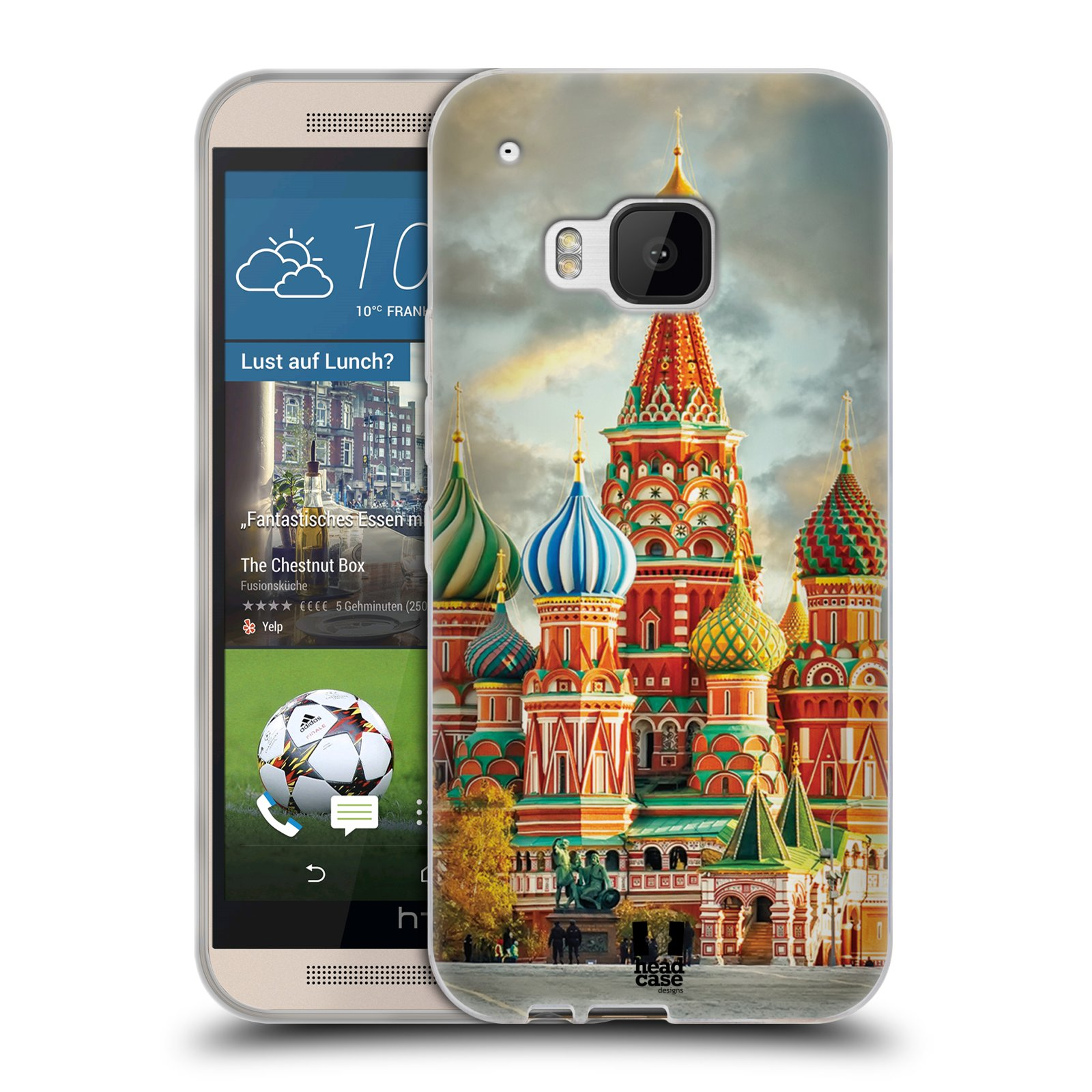 HEAD CASE CITY SKYLINES SILICONE GEL CASE FOR HTC ONE M9