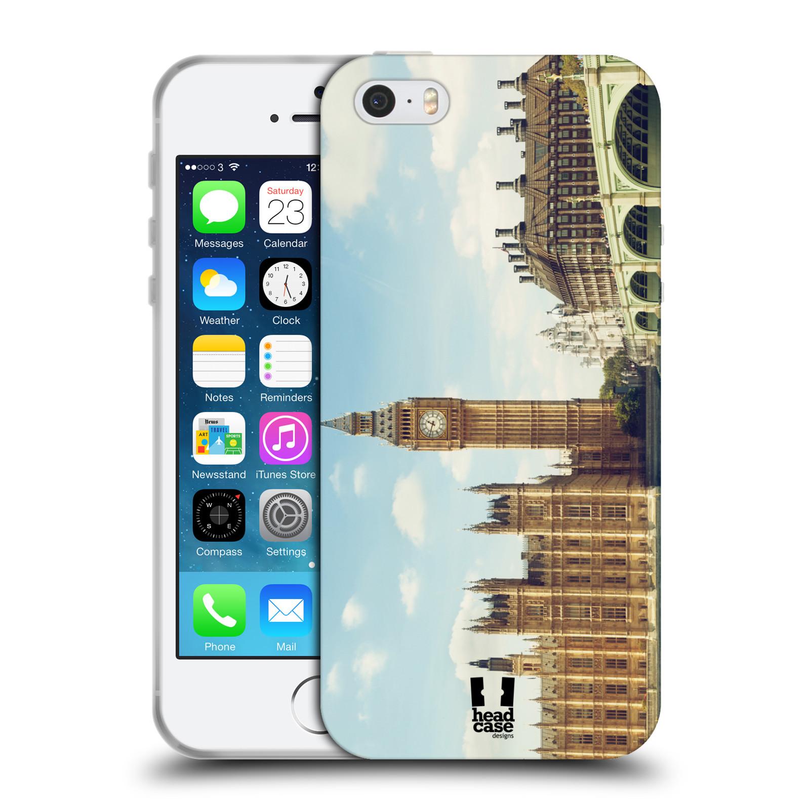HEAD CASE silikonový obal na mobil Apple Iphone 5 5S vzor Panoramata měst  horizontální foto empty d2771af4c9a