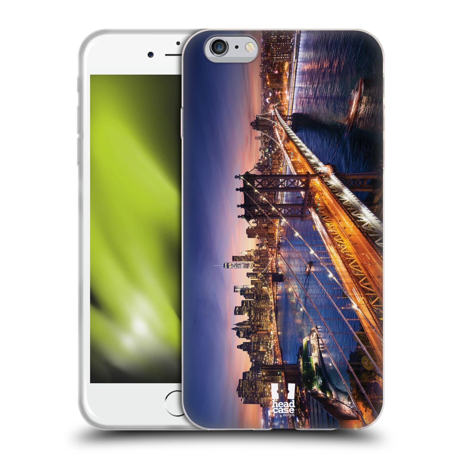 HEAD CASE silikonový obal na mobil Apple Iphone 6 PLUS  6S PLUS vzor  Panoramata měst empty 1926c185963