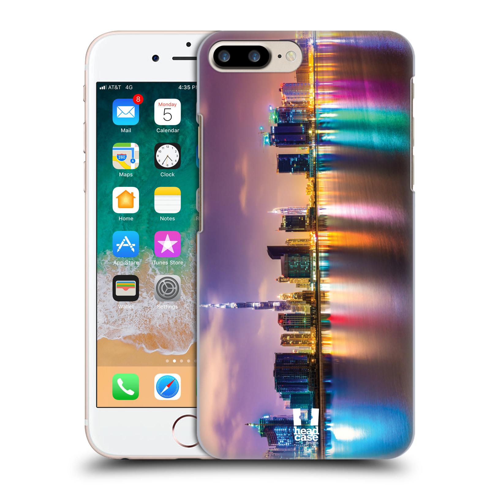 HEAD CASE plastový obal na mobil Apple Iphone 7 PLUS vzor Panoramata měst horizontální foto DUBAI MRAKODRAPY