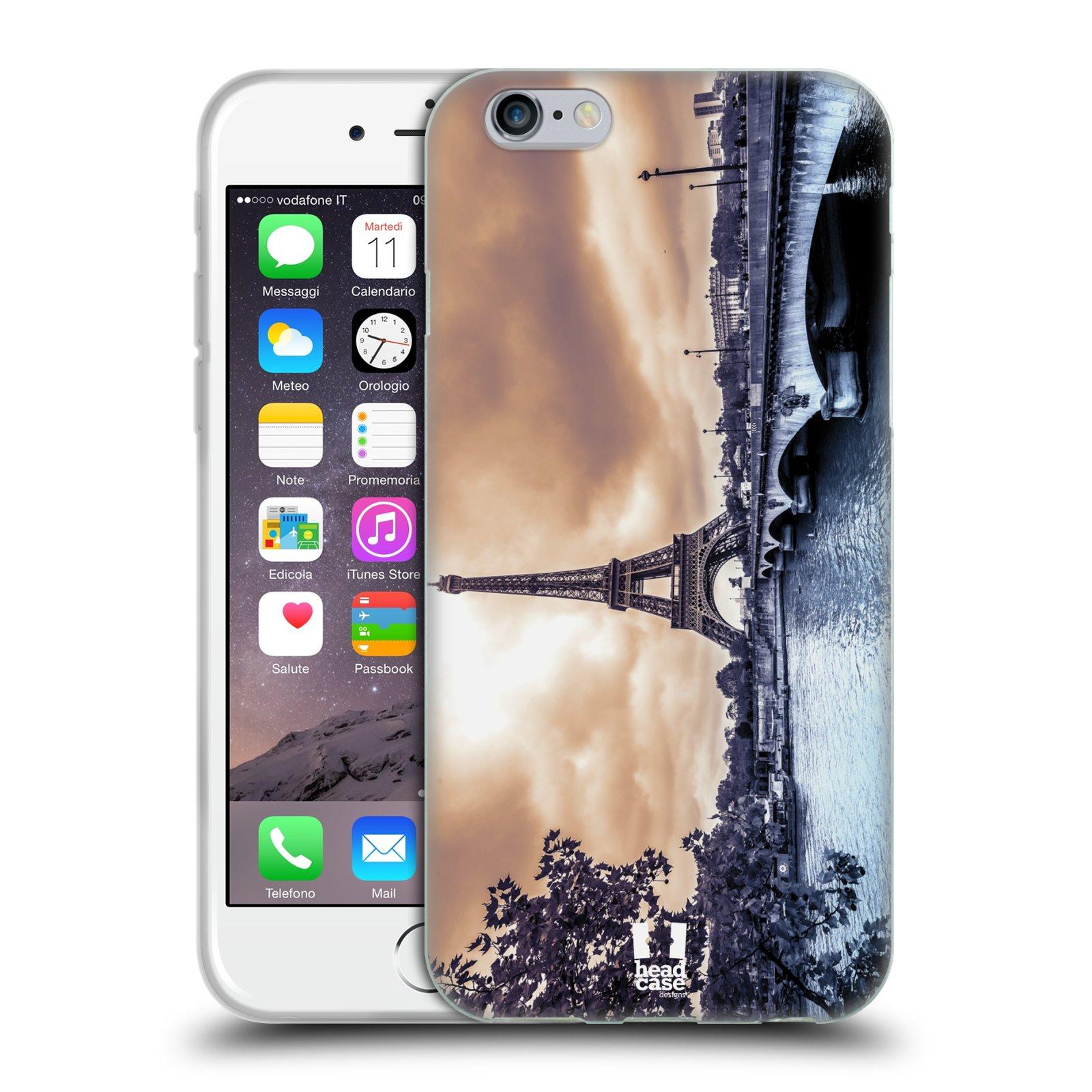 HEAD CASE silikonový obal na mobil Apple Iphone 6 6S vzor Panoramata měst  horizontální foto empty d35d0069adf