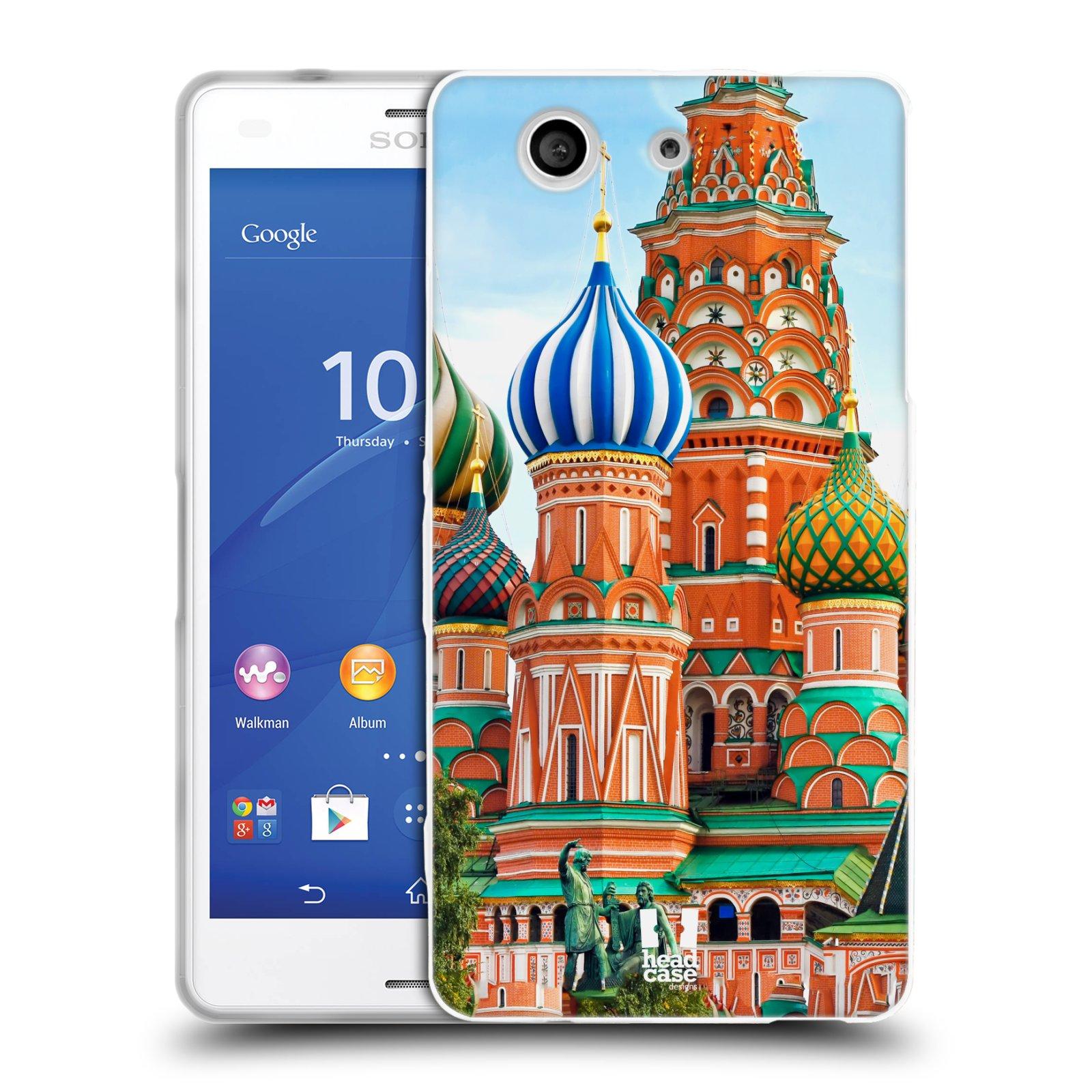 HEAD CASE silikonový obal na mobil Sony Xperia Z3 COMPACT (D5803) vzor Města foto náměstí RUSKO,MOSKVA, RUDÉ NÁMĚSTÍ