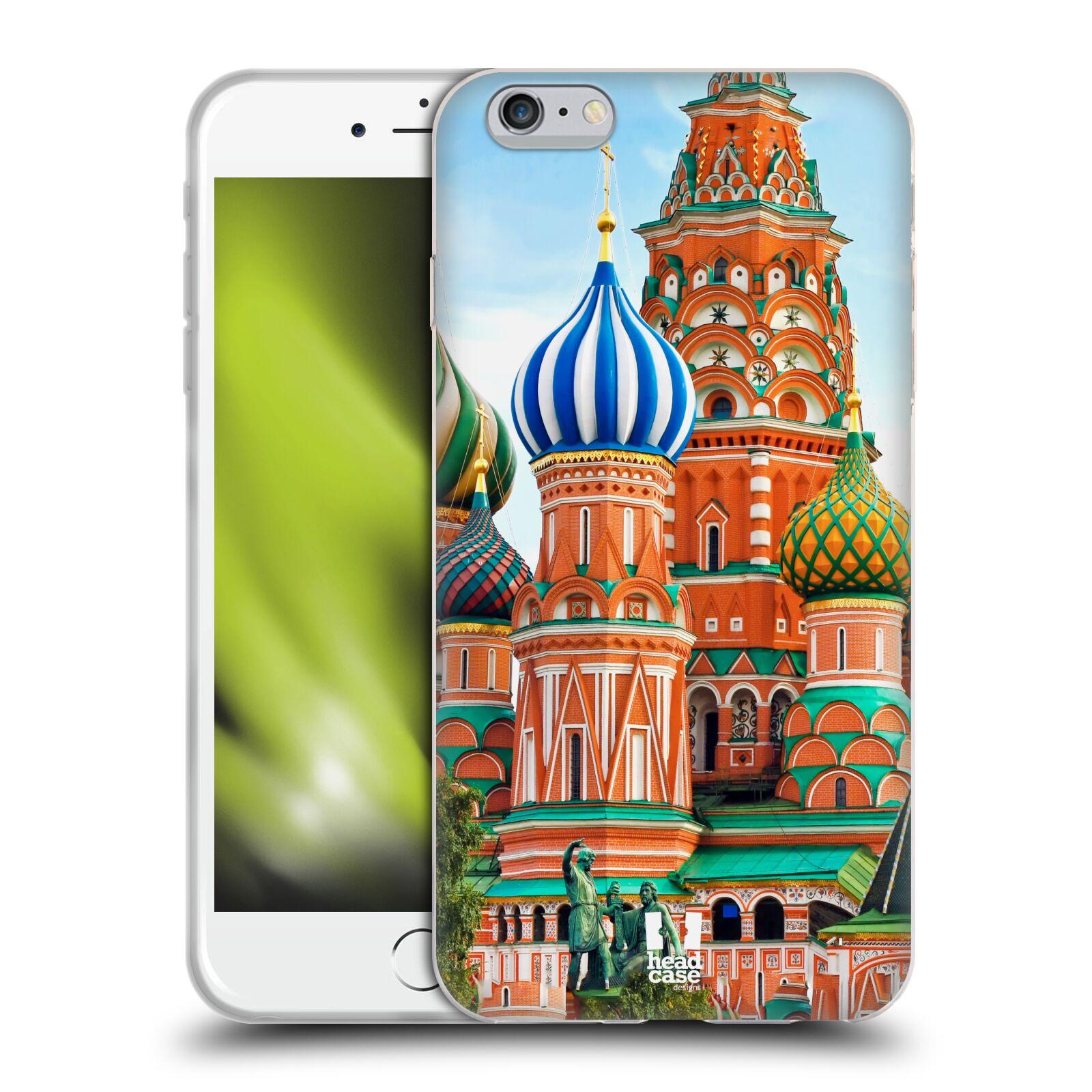 HEAD CASE silikonový obal na mobil Apple Iphone 6 PLUS/ 6S PLUS vzor Města foto náměstí RUSKO,MOSKVA, RUDÉ NÁMĚSTÍ