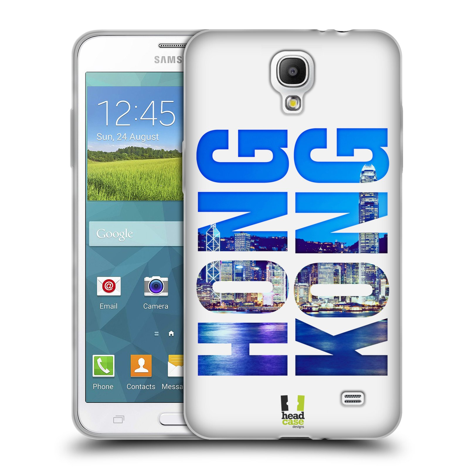 HEAD CASE silikonový obal na mobil Samsung Galaxy Mega 2 vzor Města foto a  nadpis ČÍNA empty 501c4ea3ce5