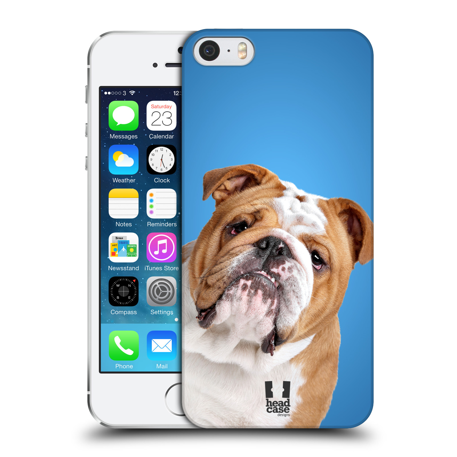HEAD CASE DESIGNS DOG BREEDS HARD BACK CASE COVER FOR APPLE iPHONE 5 5S