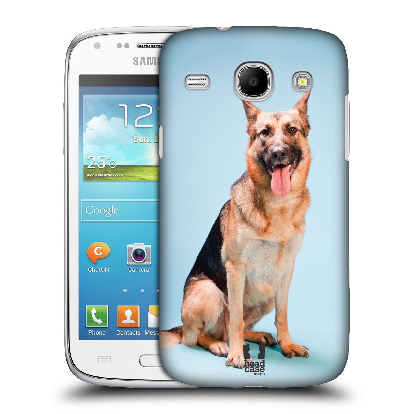 HEAD CASE DESIGNS DOG BREEDS CASE COVER FOR SAMSUNG GALAXY CORE I8260 I8262