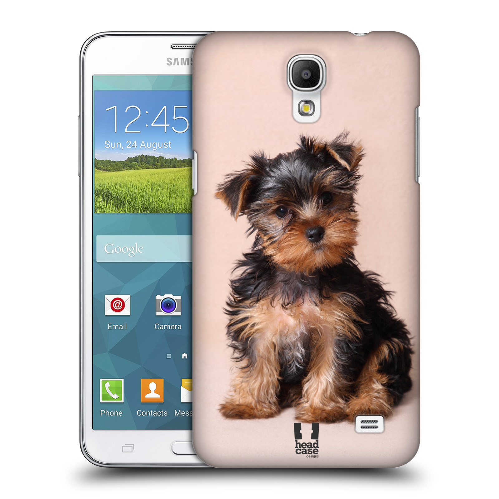 head case designs razze famose di cani cover retro rigida