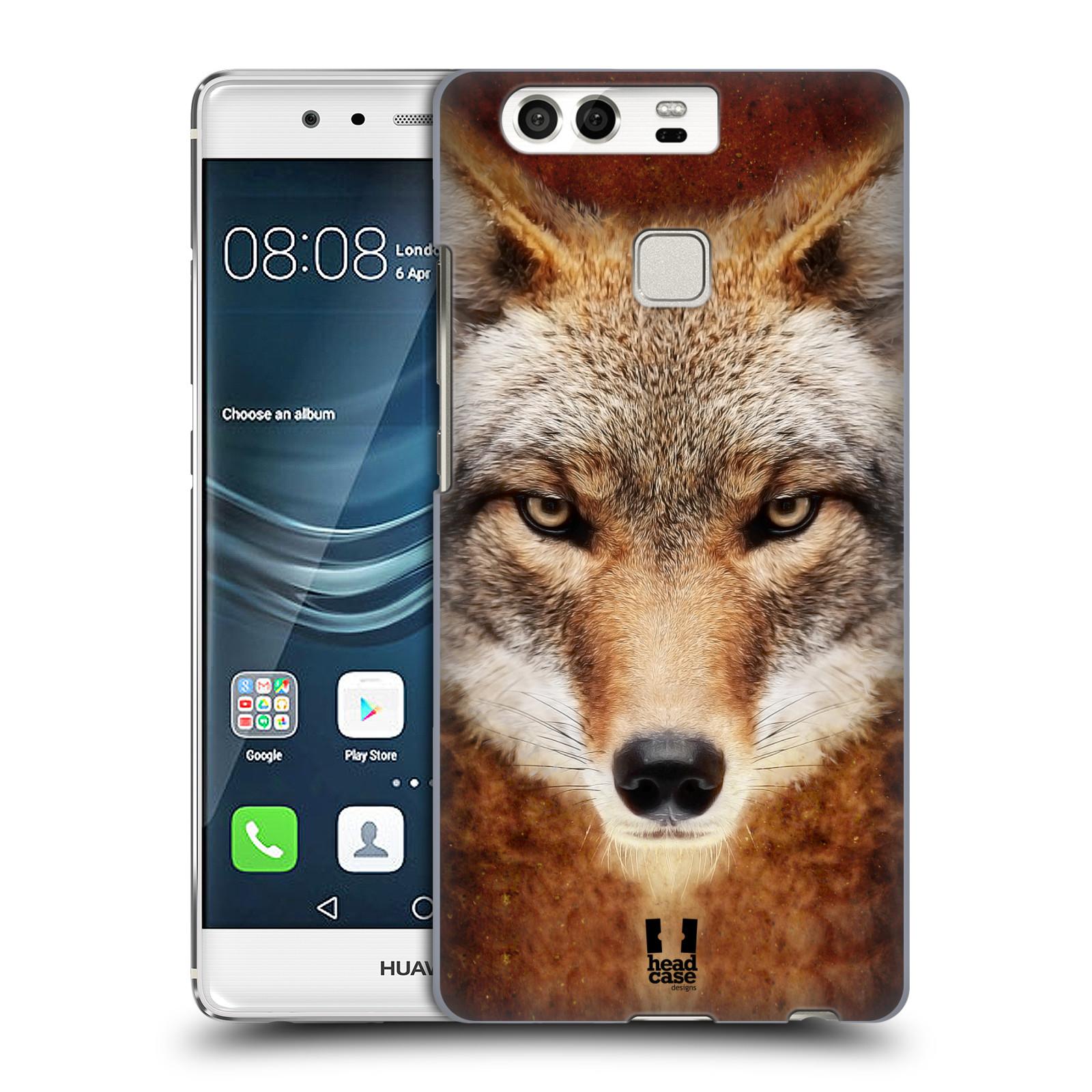 HEAD CASE plastový obal na mobil Huawei P9 / P9 DUAL SIM vzor Zvířecí tváře kojot