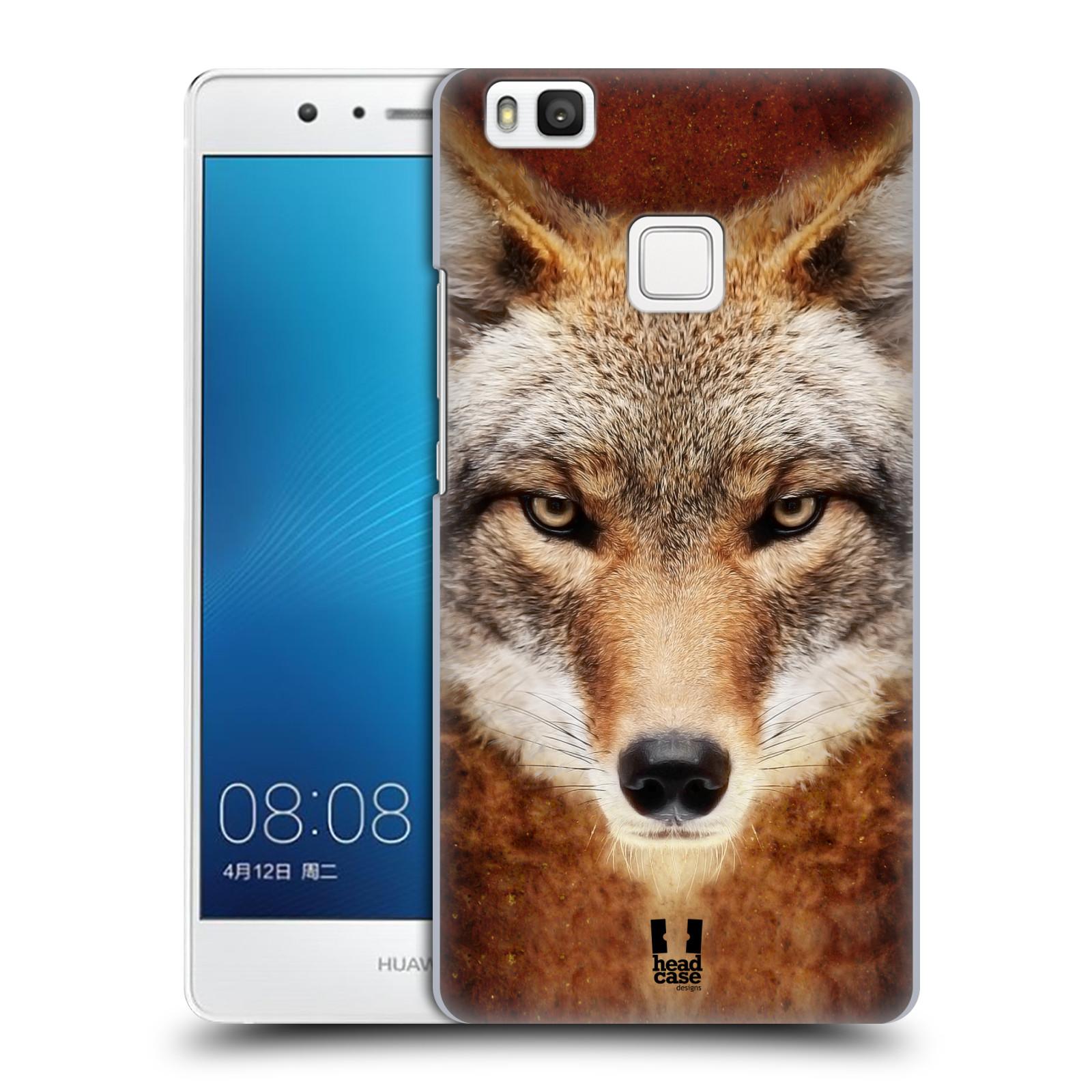 HEAD CASE plastový obal na mobil Huawei P9 LITE / P9 LITE DUAL SIM vzor Zvířecí tváře kojot