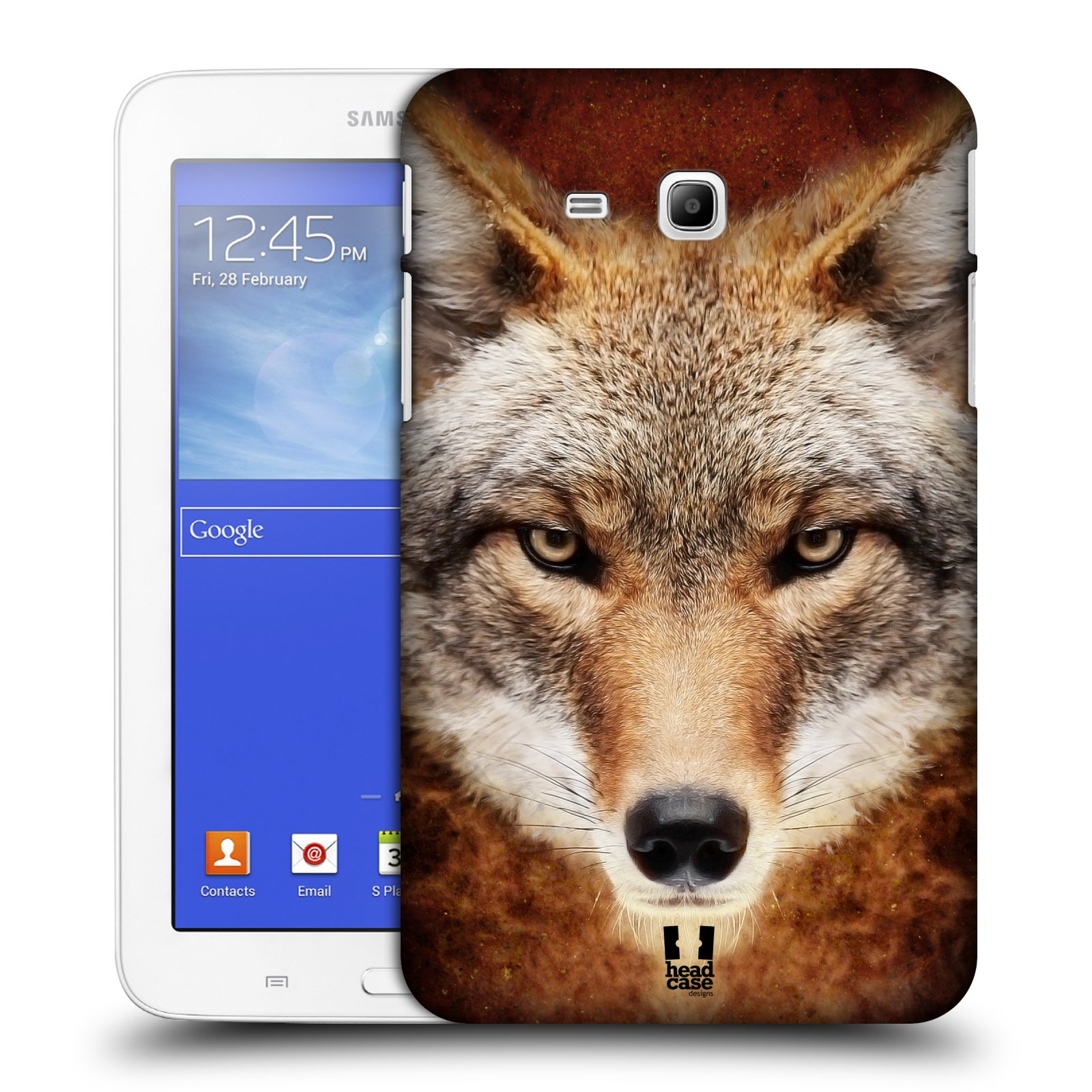 HEAD CASE DESIGNS ANIMAL FACES CASE COVER FOR SAMSUNG GALAXY TAB 3 LITE 7.0 T111