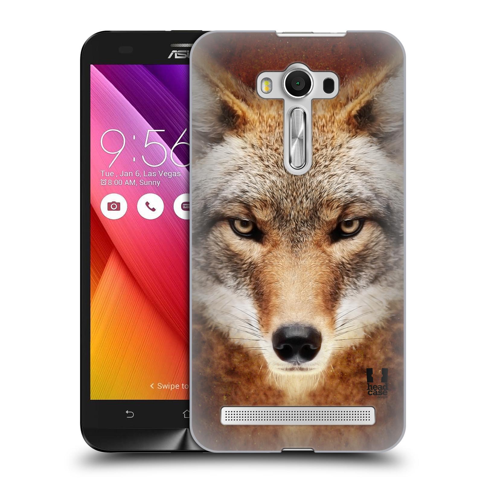 HEAD CASE plastový obal na mobil Asus Zenfone 2 LASER (5,5 displej ZE550KL) vzor Zvířecí tváře kojot