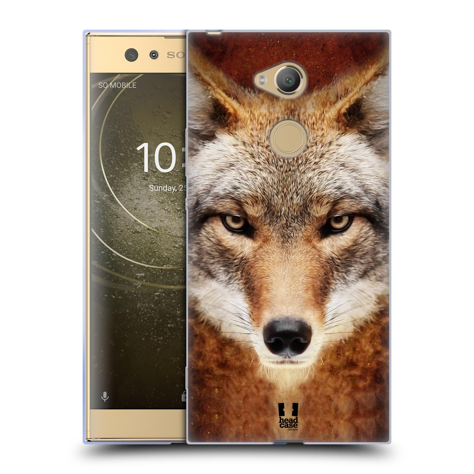 Pouzdro na mobil Sony Xperia XA2 Ultra vzor Zvířecí tváře kojot