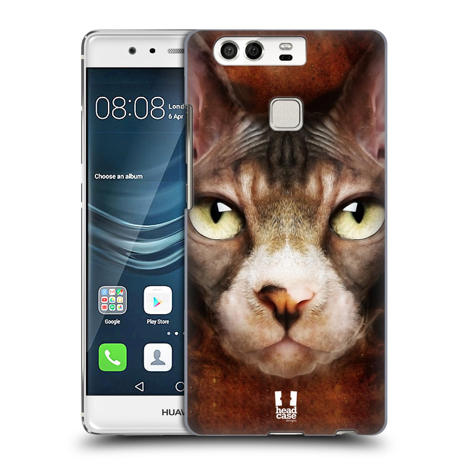HEAD CASE plastový obal na mobil Huawei P9 / P9 DUAL SIM vzor Zvířecí tváře kočka sphynx