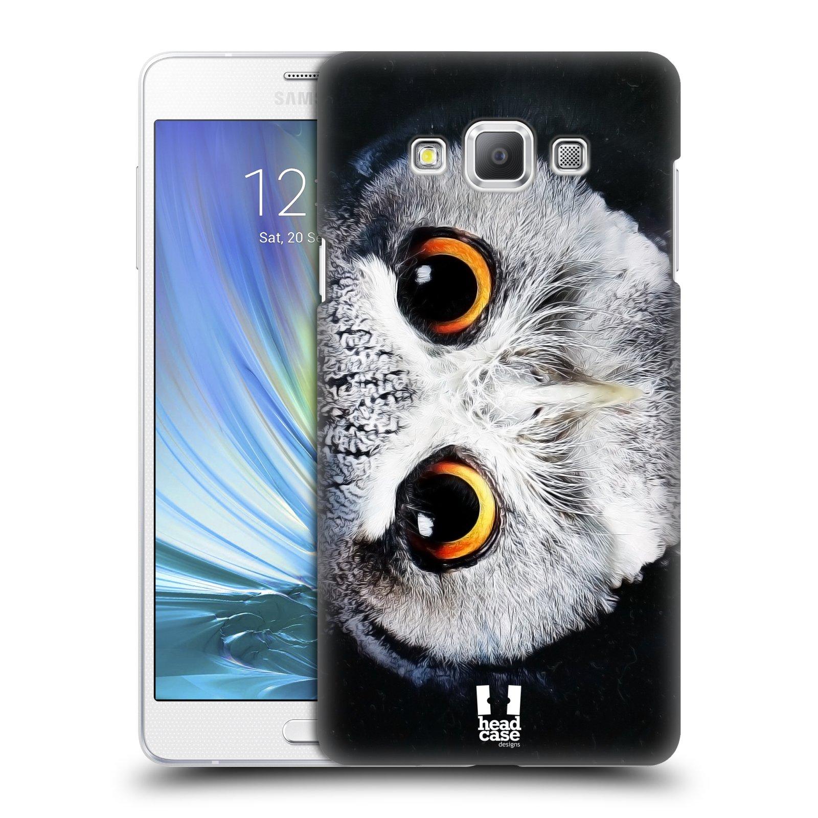 HEAD CASE plastový obal na mobil SAMSUNG GALAXY A7 vzor Zvířecí tváře sova
