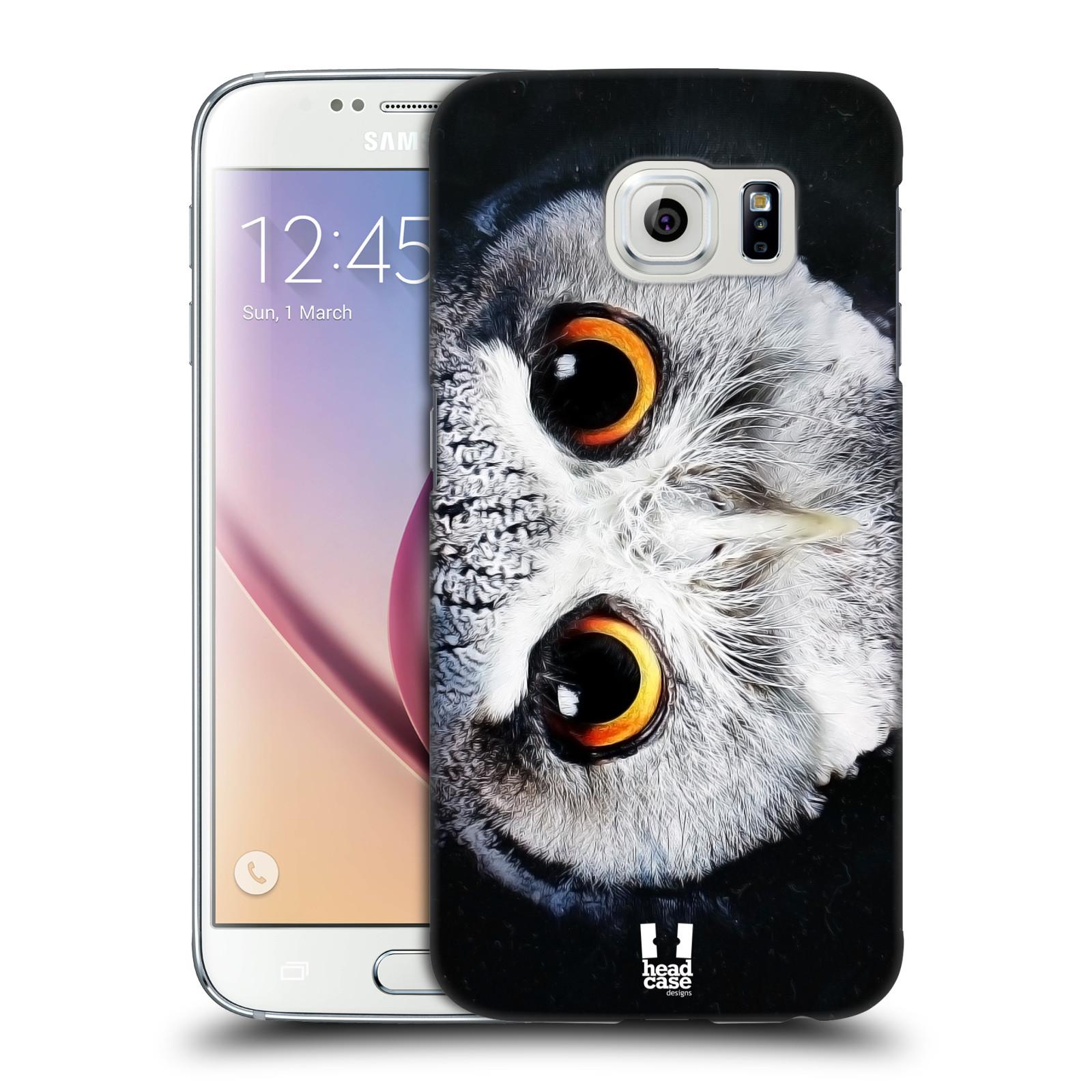 HEAD CASE plastový obal na mobil SAMSUNG Galaxy S6 (G9200, G920F) vzor Zvířecí tváře sova