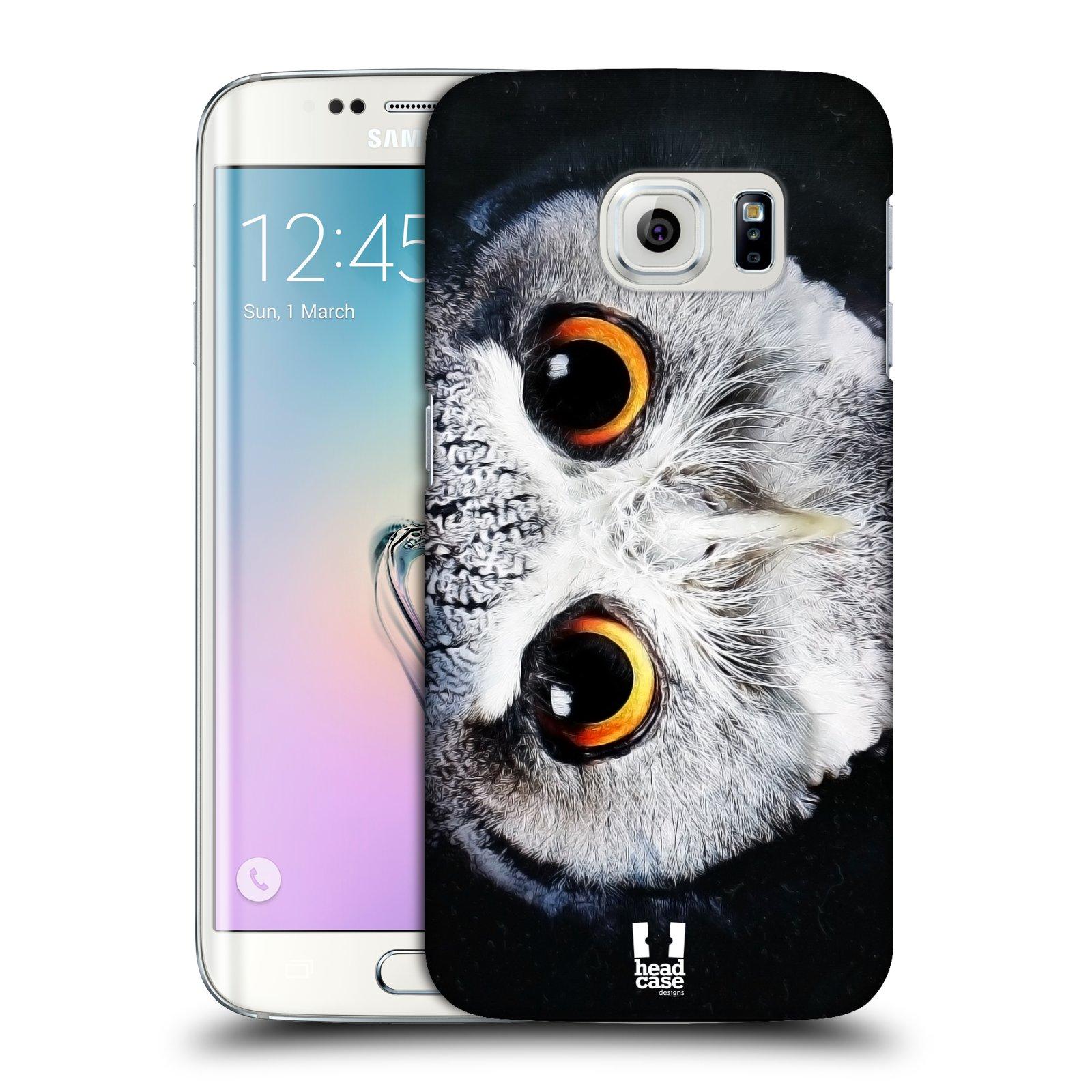 HEAD CASE plastový obal na mobil SAMSUNG Galaxy S6 EDGE (G9250, G925, G925F) vzor Zvířecí tváře sova