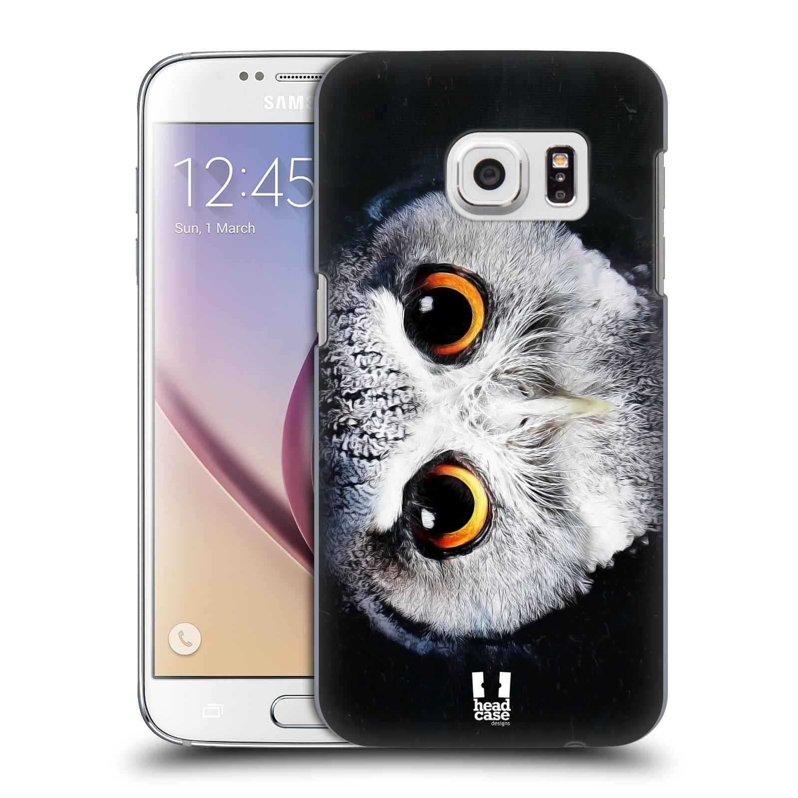HEAD CASE plastový obal na mobil SAMSUNG GALAXY S7 vzor Zvířecí tváře sova