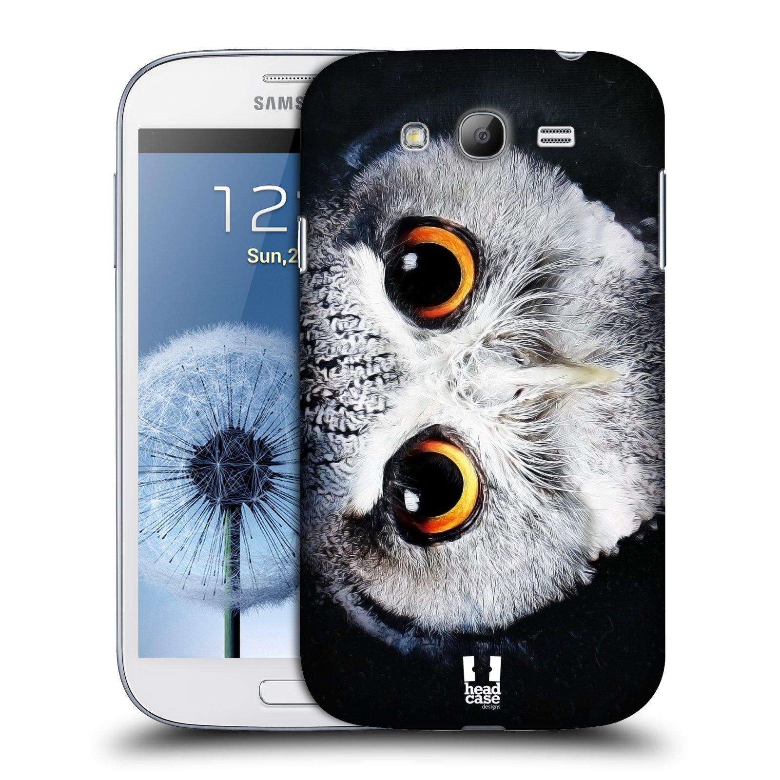 HEAD CASE plastový obal na mobil SAMSUNG GALAXY Grand i9080 vzor Zvířecí tváře sova