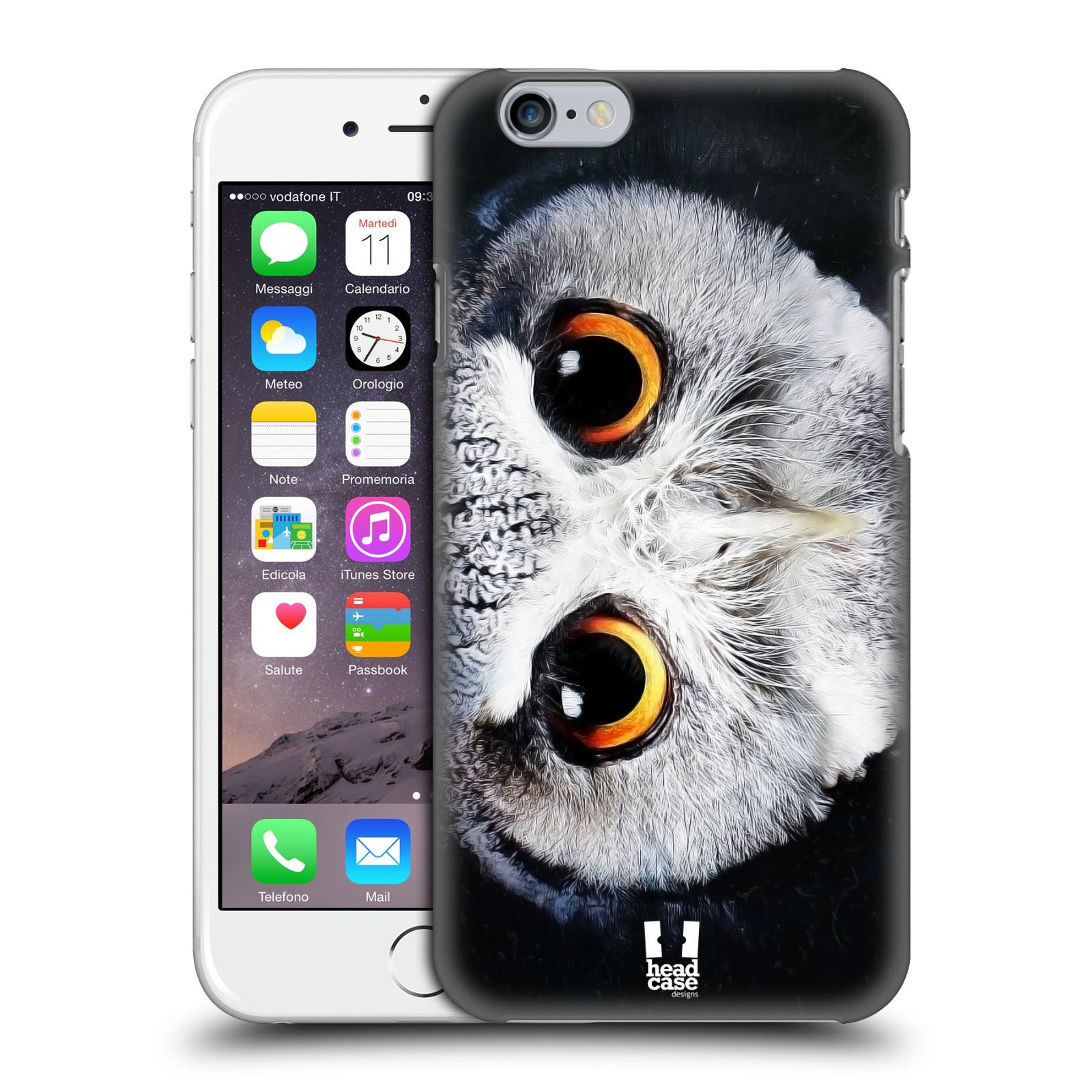 Plastové pouzdro pro mobil Apple Iphone 6/6S vzor Zvířecí tváře sova