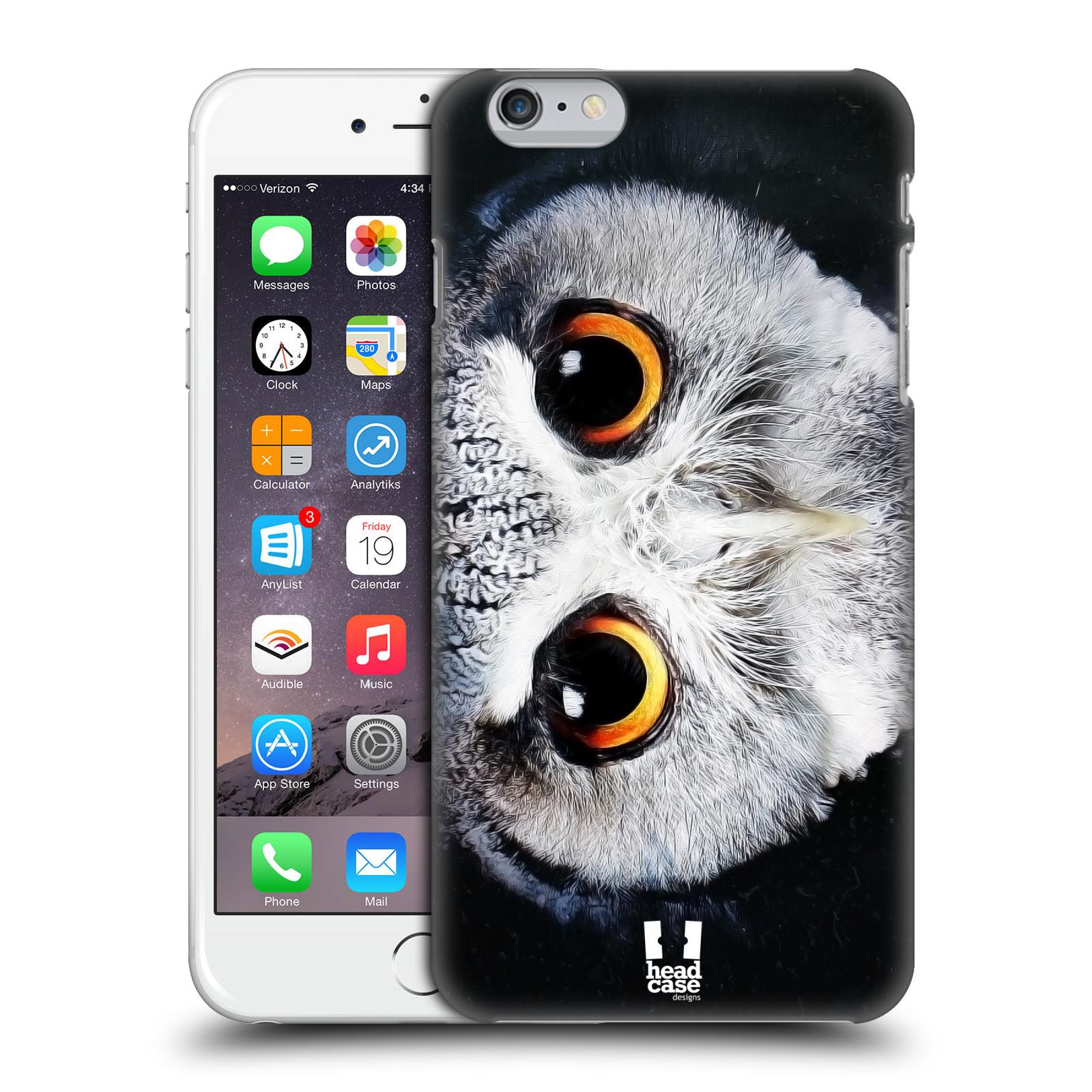 Plastové pouzdro pro mobil Apple Iphone 6 PLUS / 6S PLUS vzor Zvířecí tváře sova