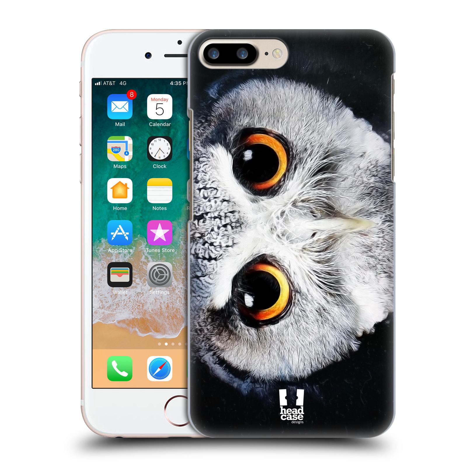 HEAD CASE plastový obal na mobil Apple Iphone 7 PLUS vzor Zvířecí tváře sova