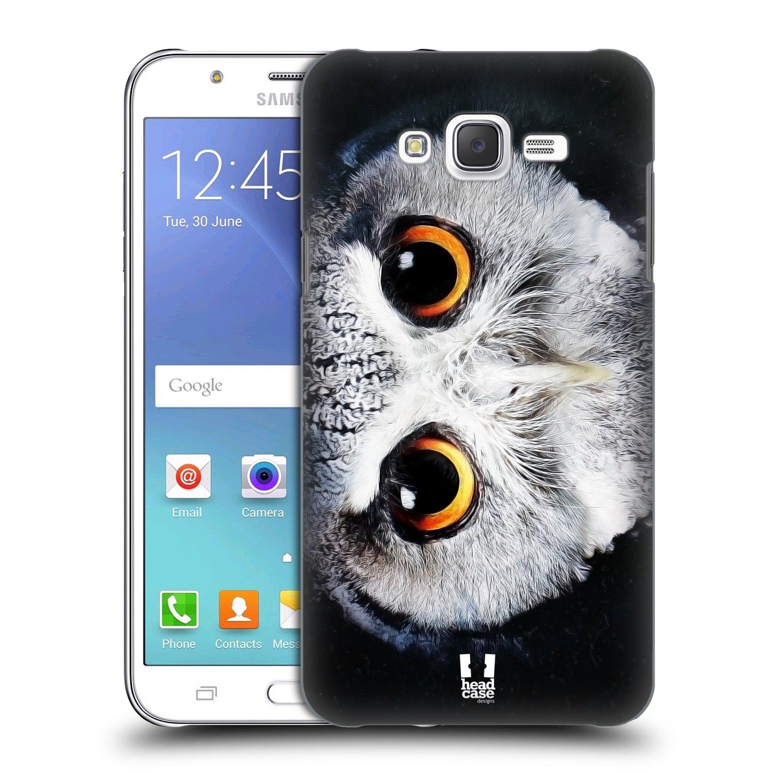 HEAD CASE plastový obal na mobil SAMSUNG Galaxy J7, J700 vzor Zvířecí tváře sova
