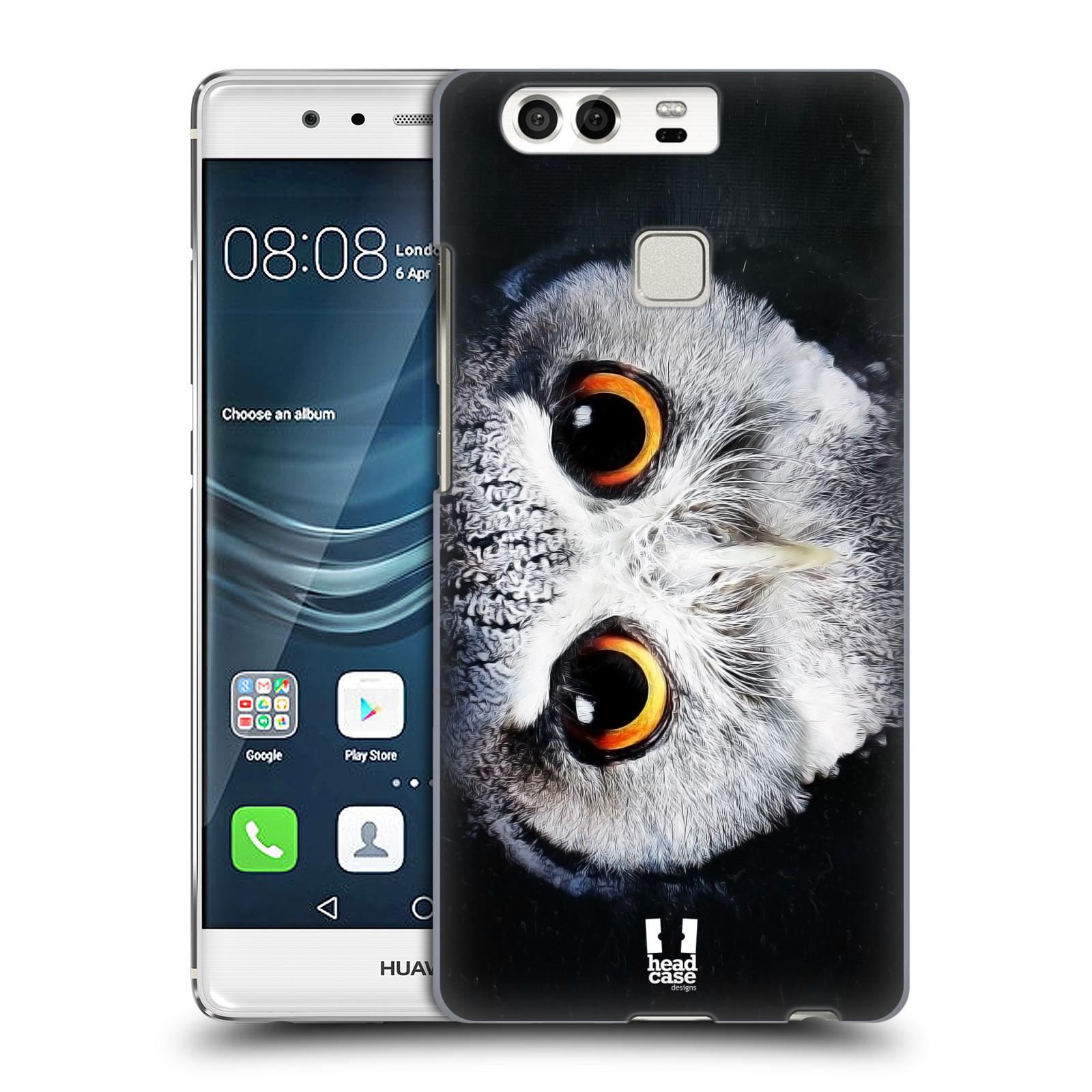 HEAD CASE plastový obal na mobil Huawei P9 / P9 DUAL SIM vzor Zvířecí tváře sova