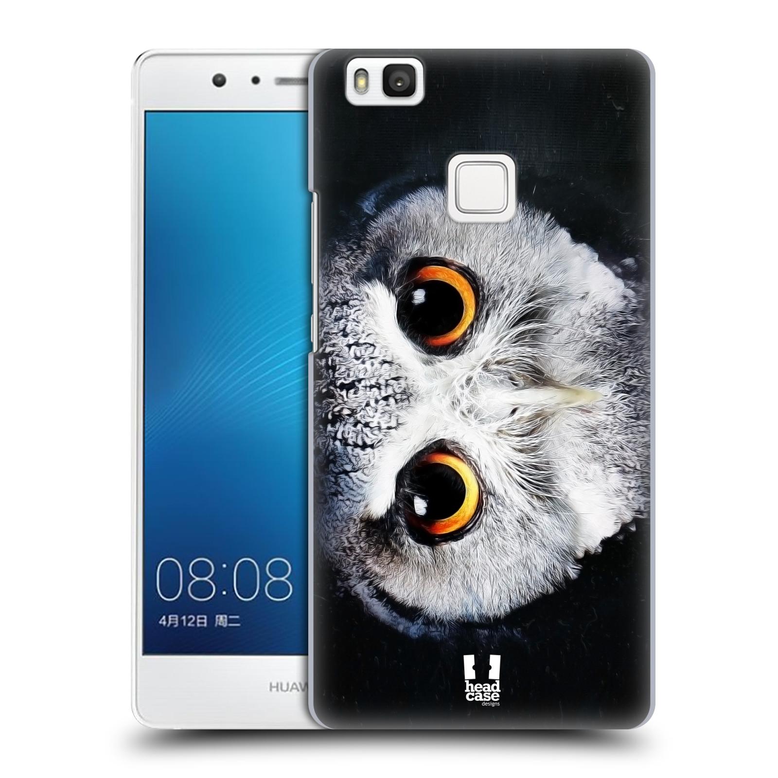 HEAD CASE plastový obal na mobil Huawei P9 LITE / P9 LITE DUAL SIM vzor Zvířecí tváře sova