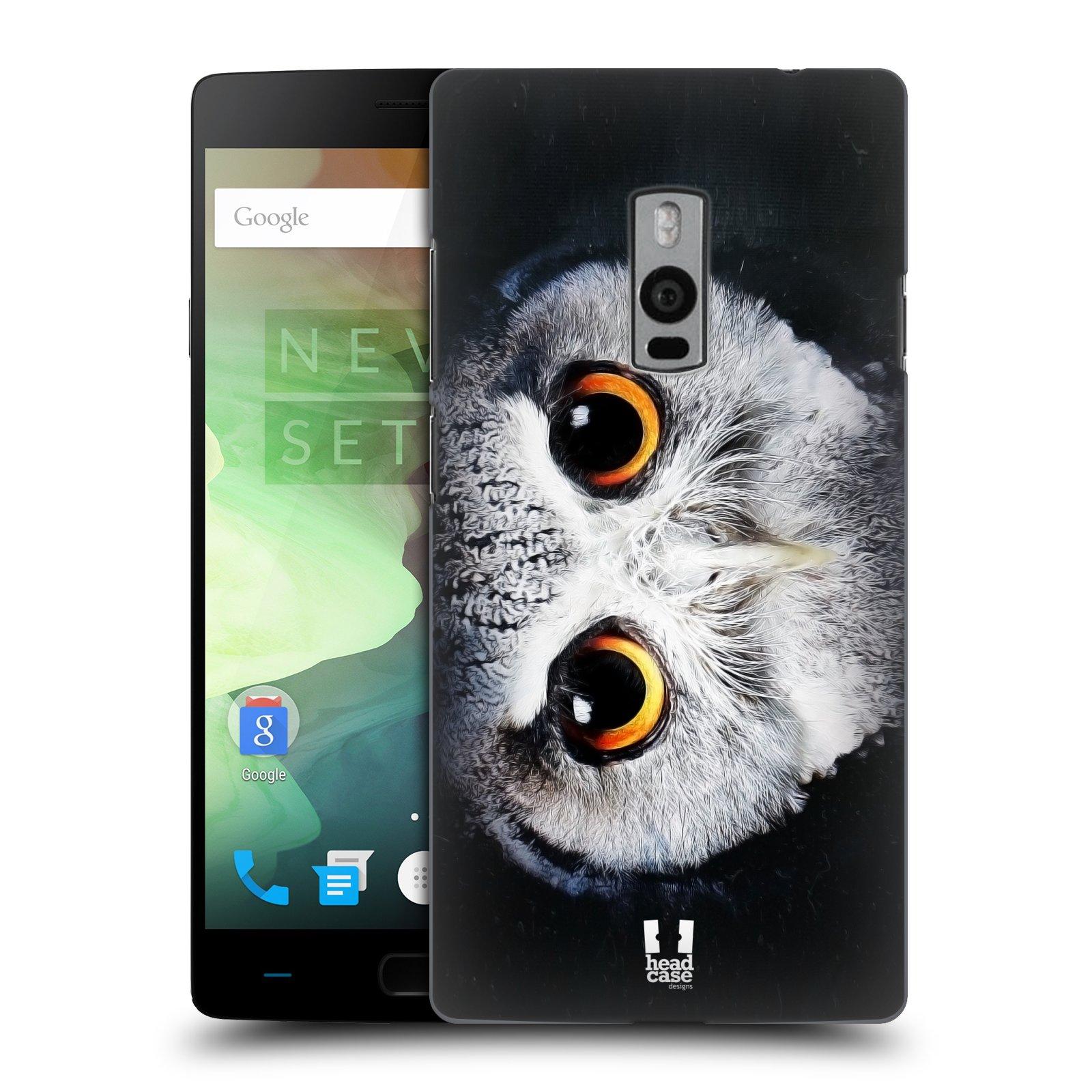 HEAD CASE pevný plastový obal na mobil OnePlus 2  ( TWO ) vzor Zvířecí tváře sova