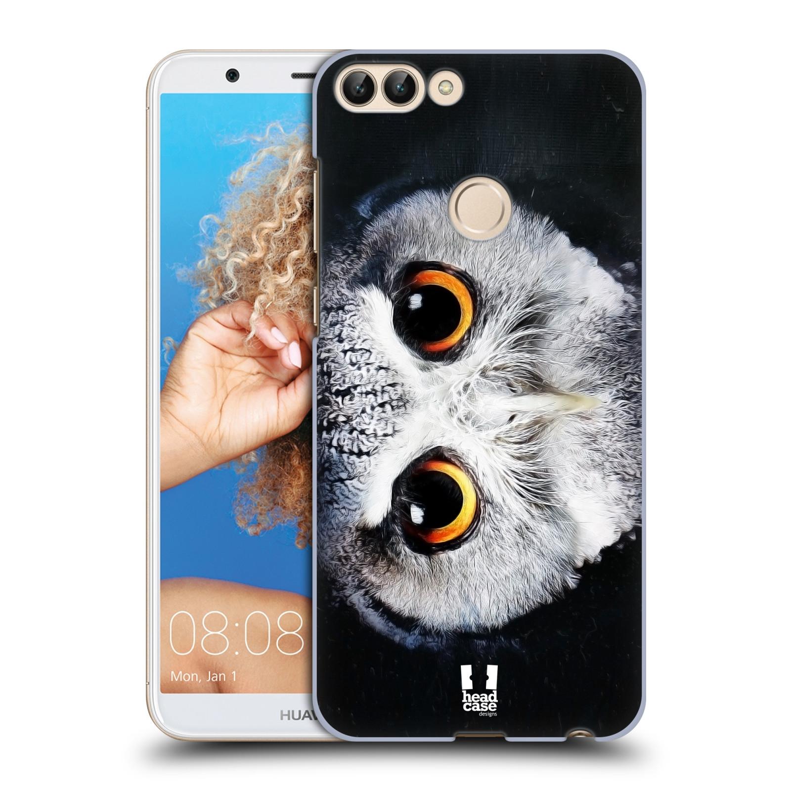 HEAD CASE plastový obal na mobil Huawei P Smart vzor Zvířecí tváře sova