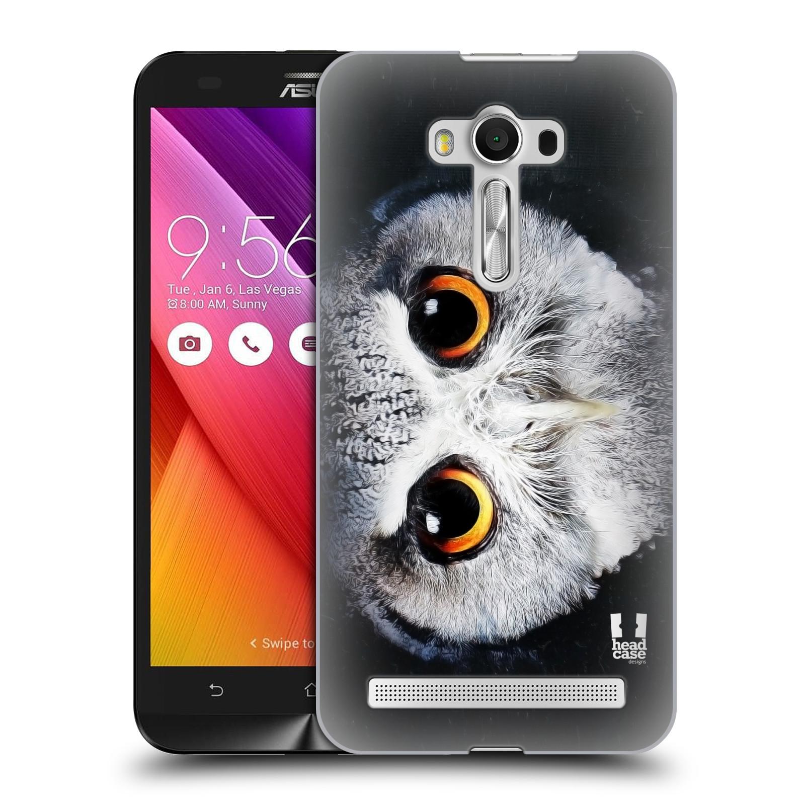 HEAD CASE plastový obal na mobil Asus Zenfone 2 LASER (5,5 displej ZE550KL) vzor Zvířecí tváře sova