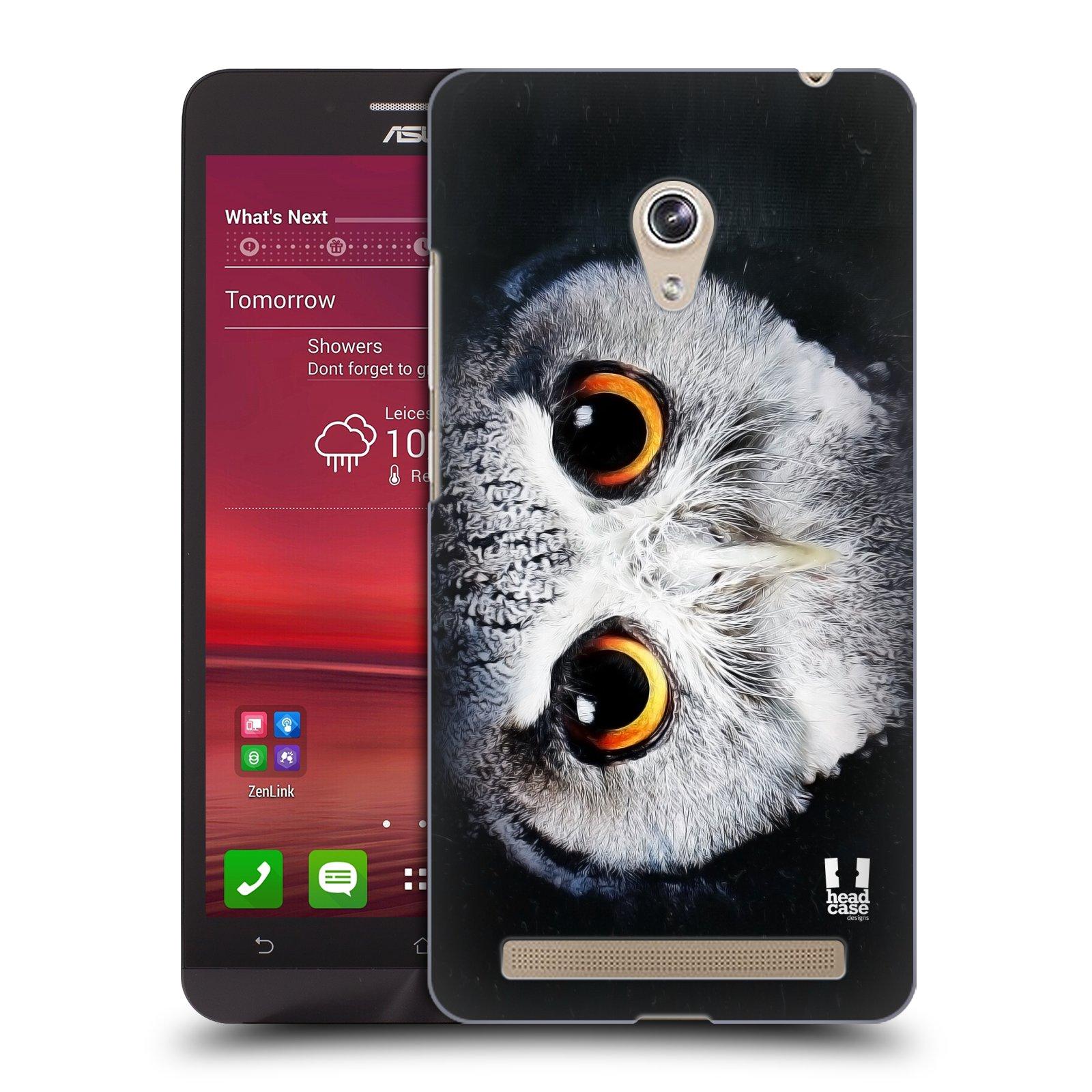 HEAD CASE plastový obal na mobil Asus Zenfone 6 vzor Zvířecí tváře sova
