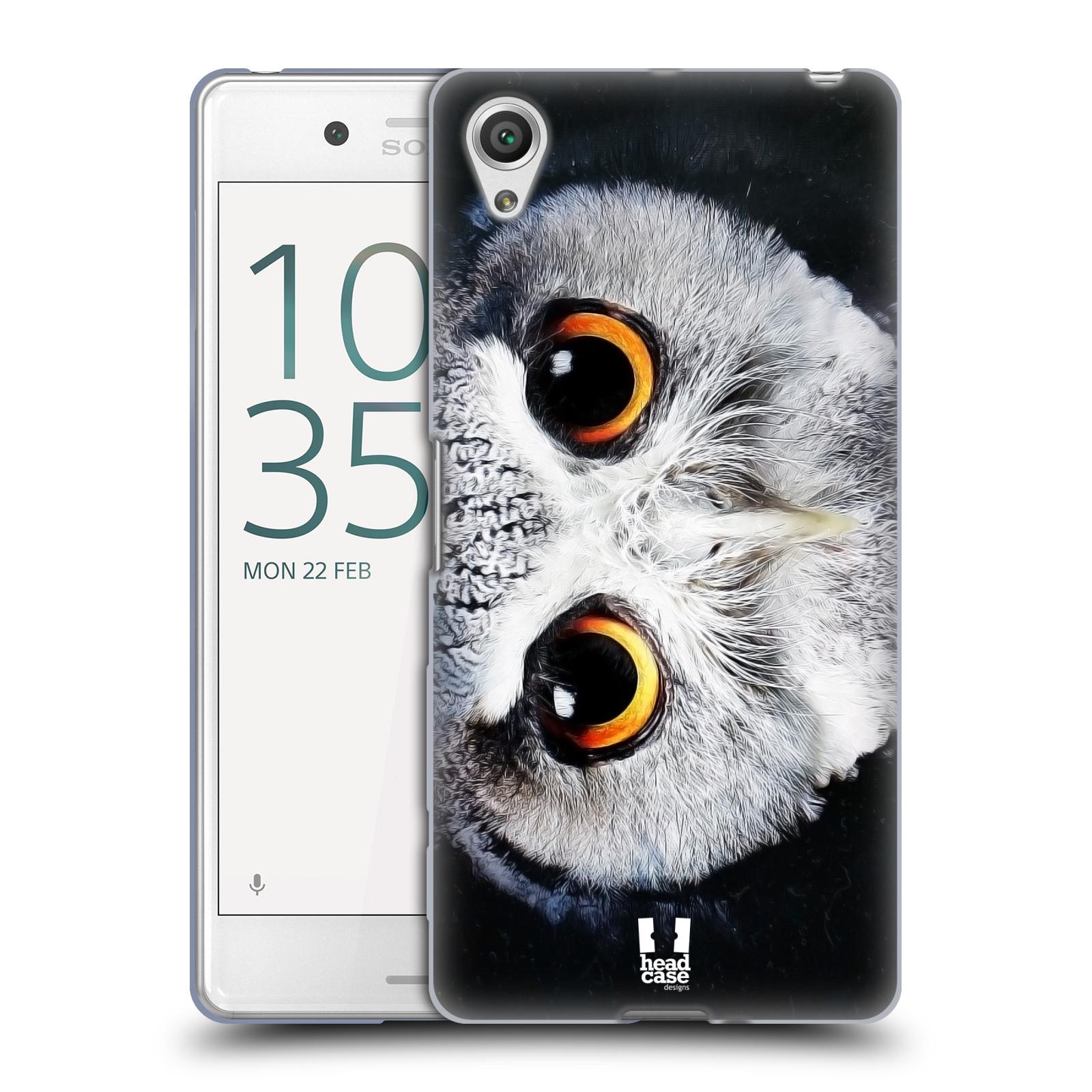 HEAD CASE silikonový obal na mobil Sony Xperia X PERFORMANCE (F8131, F8132) vzor Zvířecí tváře sova