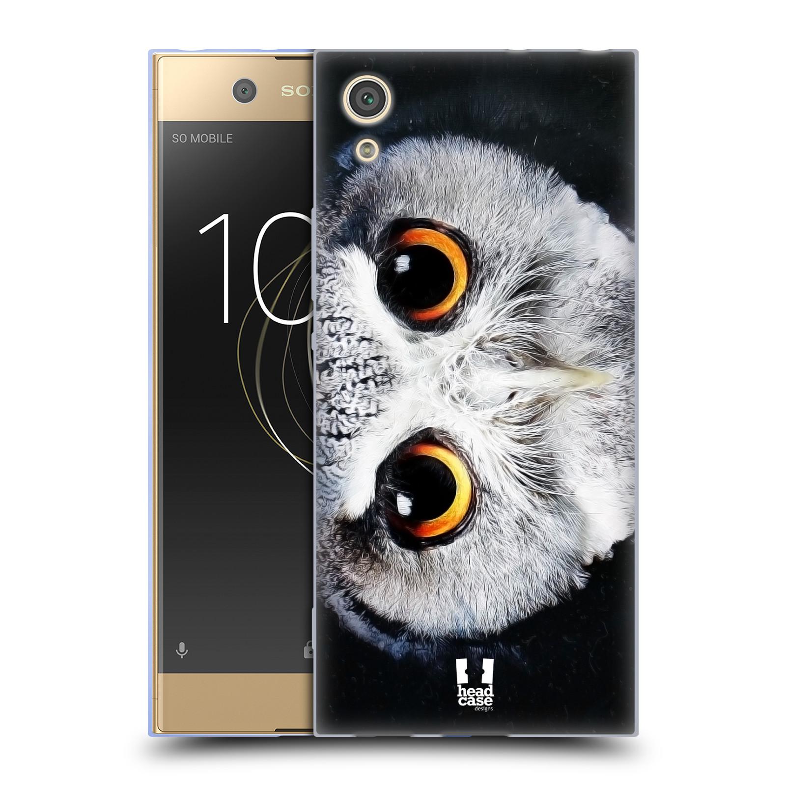 HEAD CASE silikonový obal na mobil Sony Xperia XA1 / XA1 DUAL SIM vzor Zvířecí tváře sova