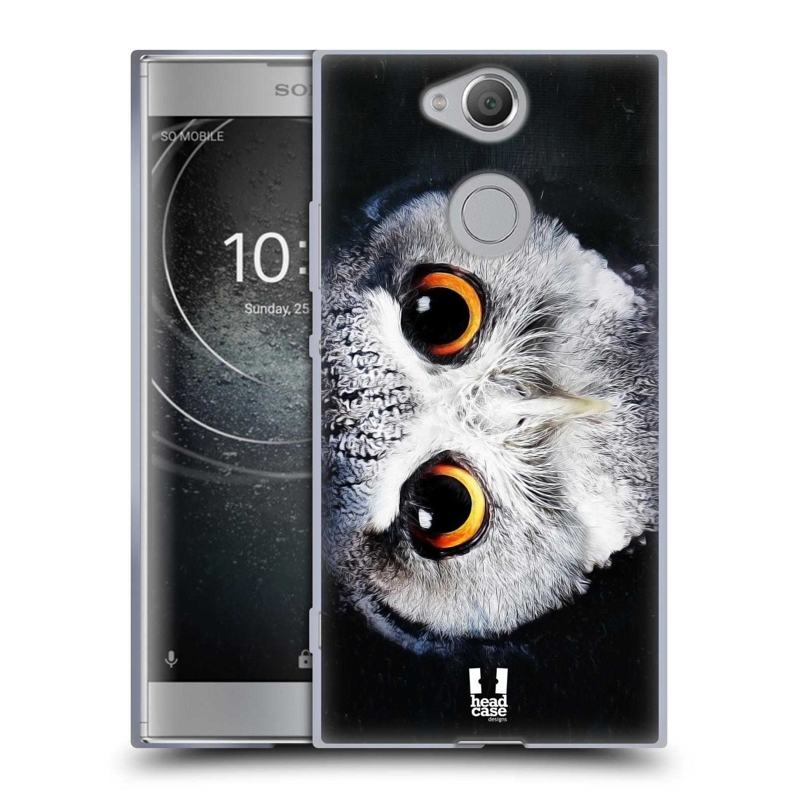 Pouzdro na mobil Sony Xperia XA2 (DUAL SIM, SINGLE SIM) vzor Zvířecí tváře sova