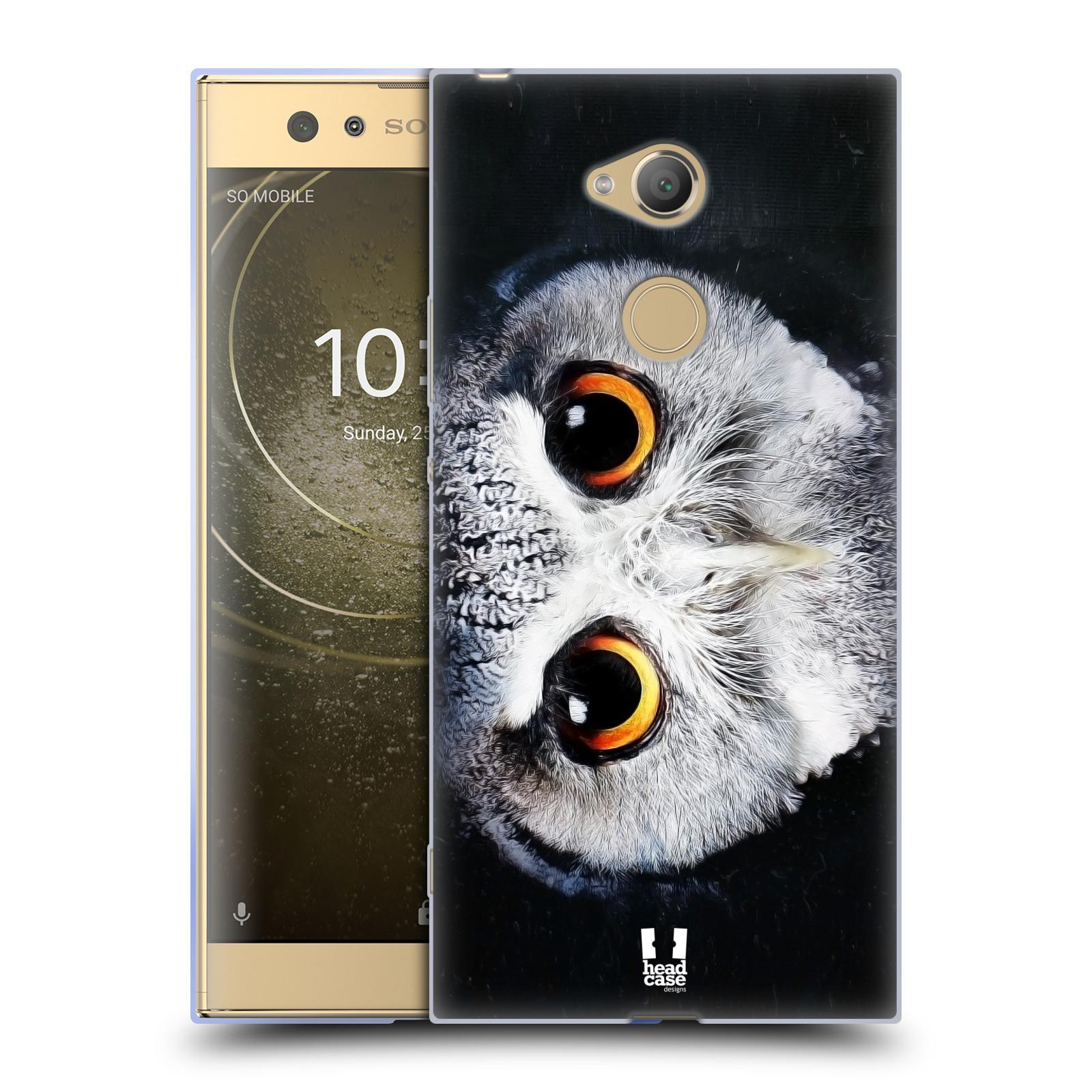 Pouzdro na mobil Sony Xperia XA2 Ultra vzor Zvířecí tváře sova