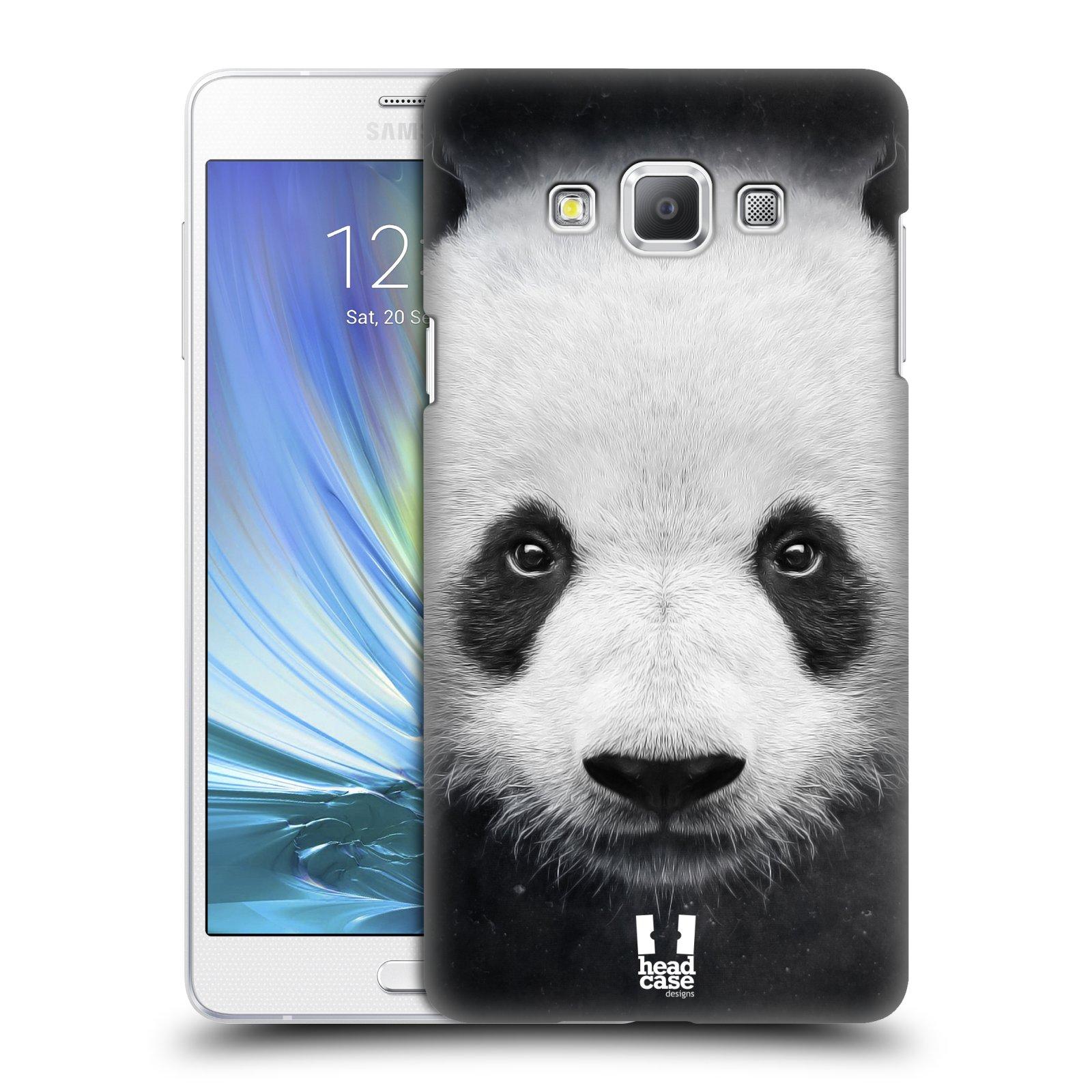 HEAD CASE plastový obal na mobil SAMSUNG GALAXY A7 vzor Zvířecí tváře medvěd panda