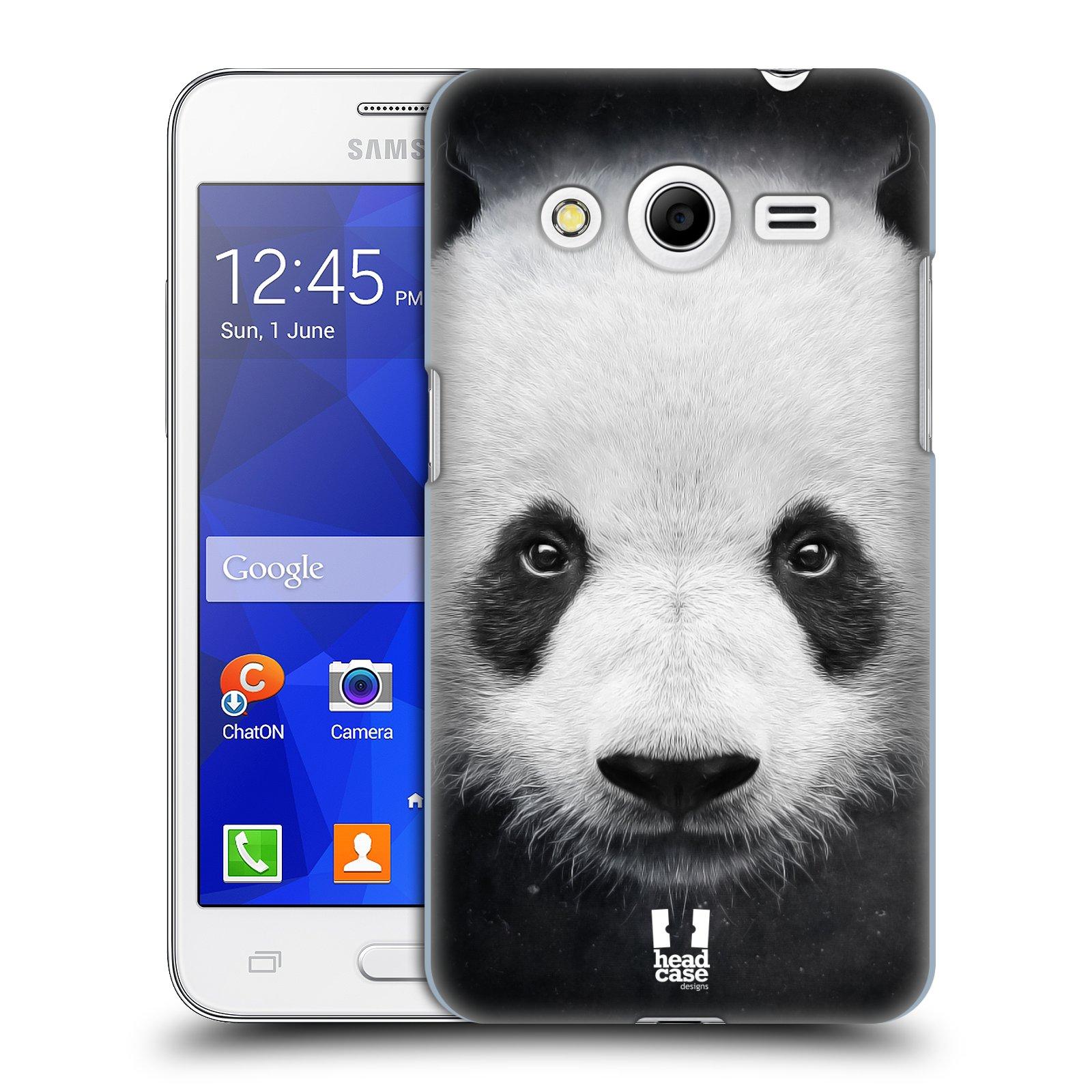 HEAD CASE plastový obal na mobil SAMSUNG GALAXY Core 2 (G355H) vzor Zvířecí tváře medvěd panda