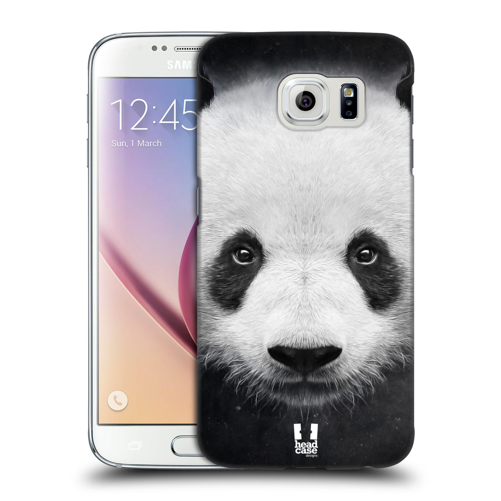 HEAD CASE plastový obal na mobil SAMSUNG Galaxy S6 (G9200, G920F) vzor Zvířecí tváře medvěd panda