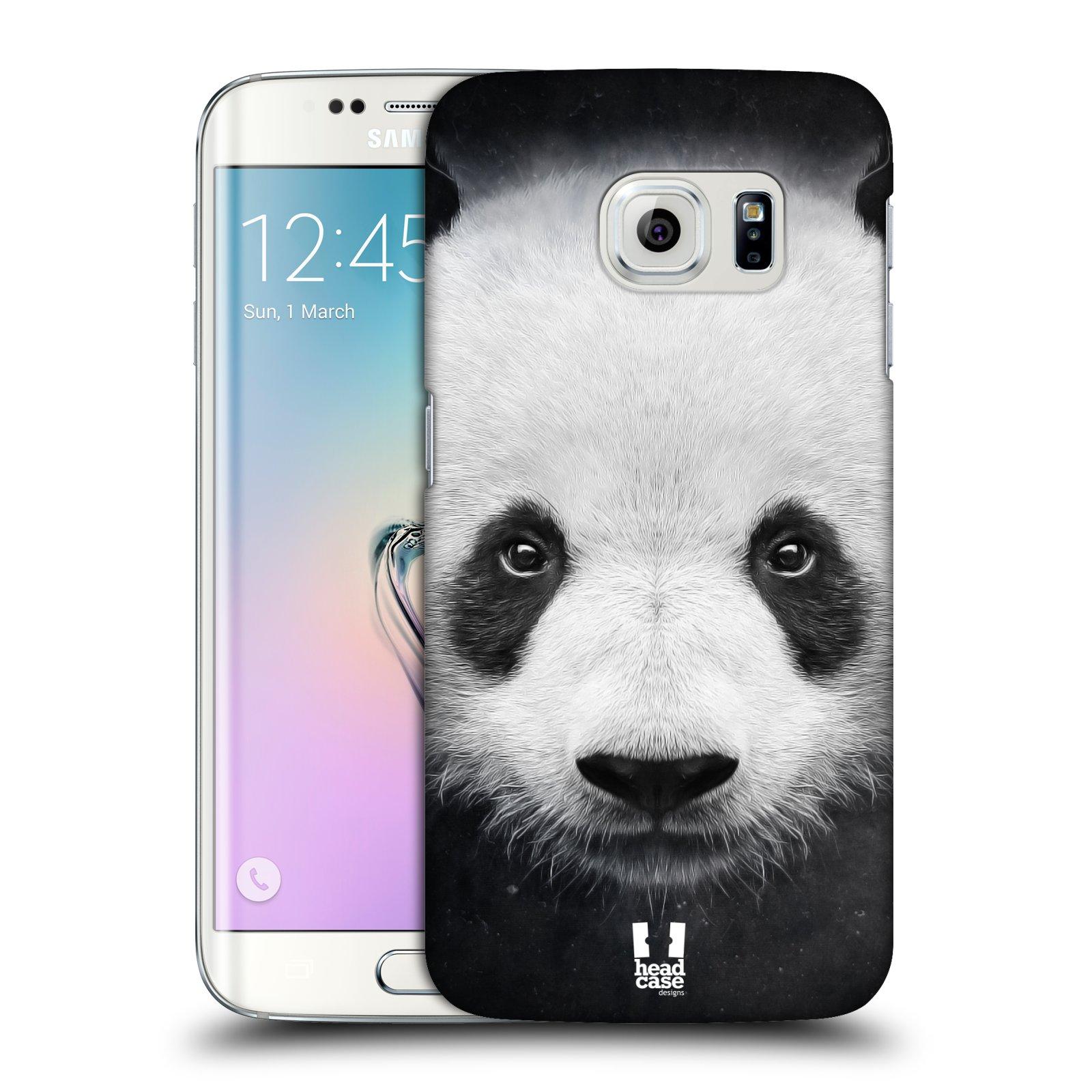 HEAD CASE plastový obal na mobil SAMSUNG Galaxy S6 EDGE (G9250, G925, G925F) vzor Zvířecí tváře medvěd panda