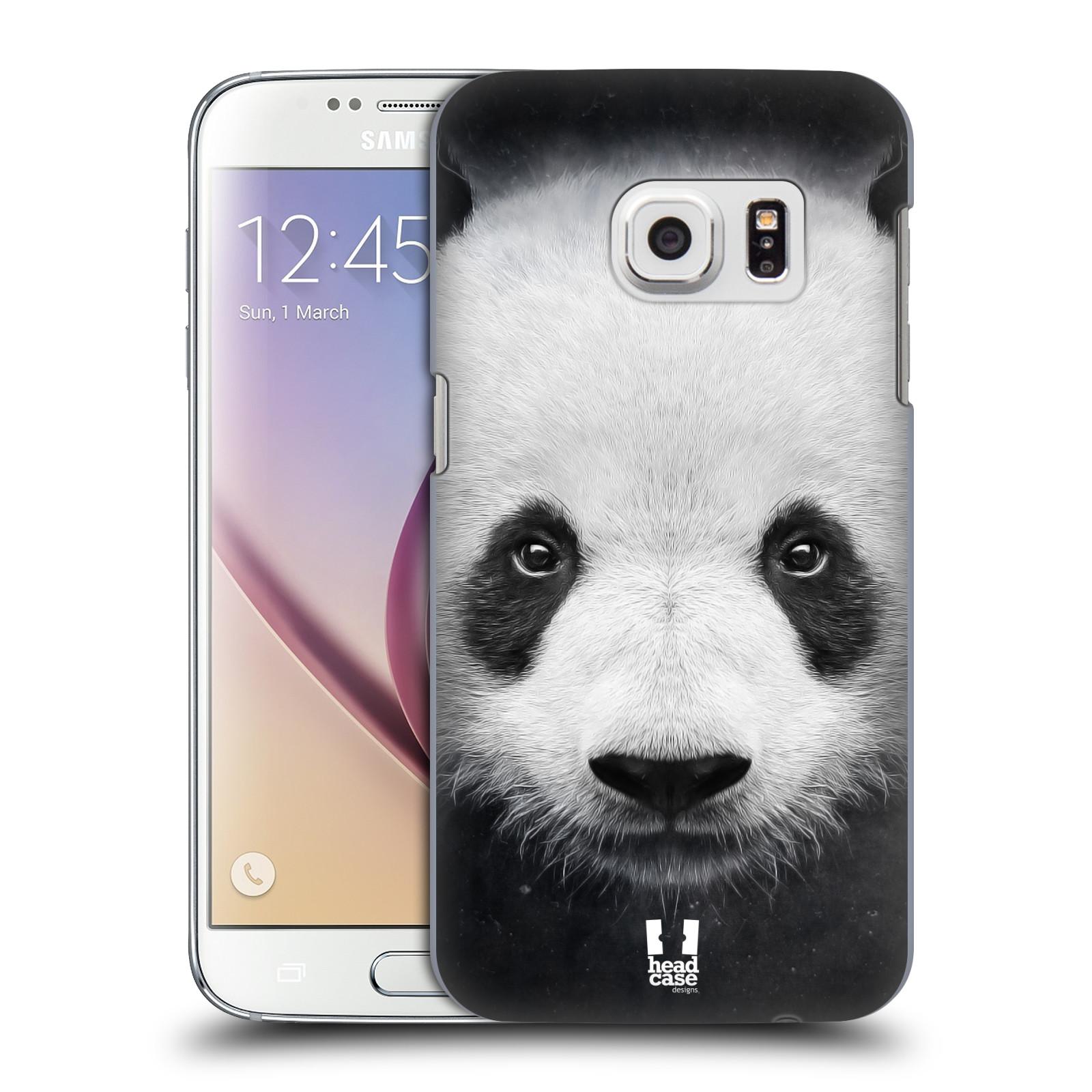 HEAD CASE plastový obal na mobil SAMSUNG GALAXY S7 vzor Zvířecí tváře medvěd panda
