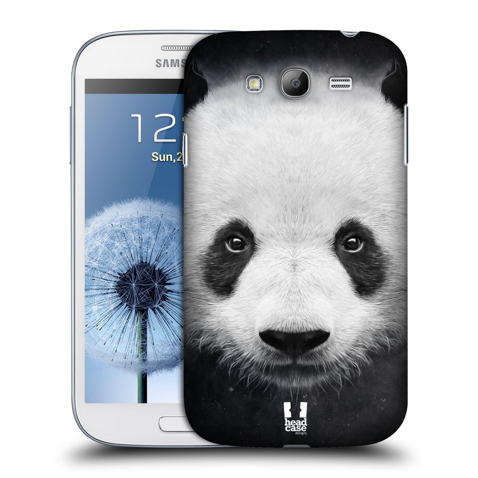 HEAD CASE plastový obal na mobil SAMSUNG GALAXY Grand i9080 vzor Zvířecí tváře medvěd panda