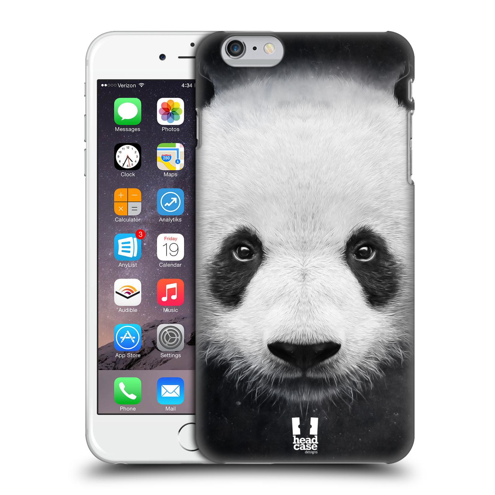 Plastové pouzdro pro mobil Apple Iphone 6 PLUS / 6S PLUS vzor Zvířecí tváře medvěd panda