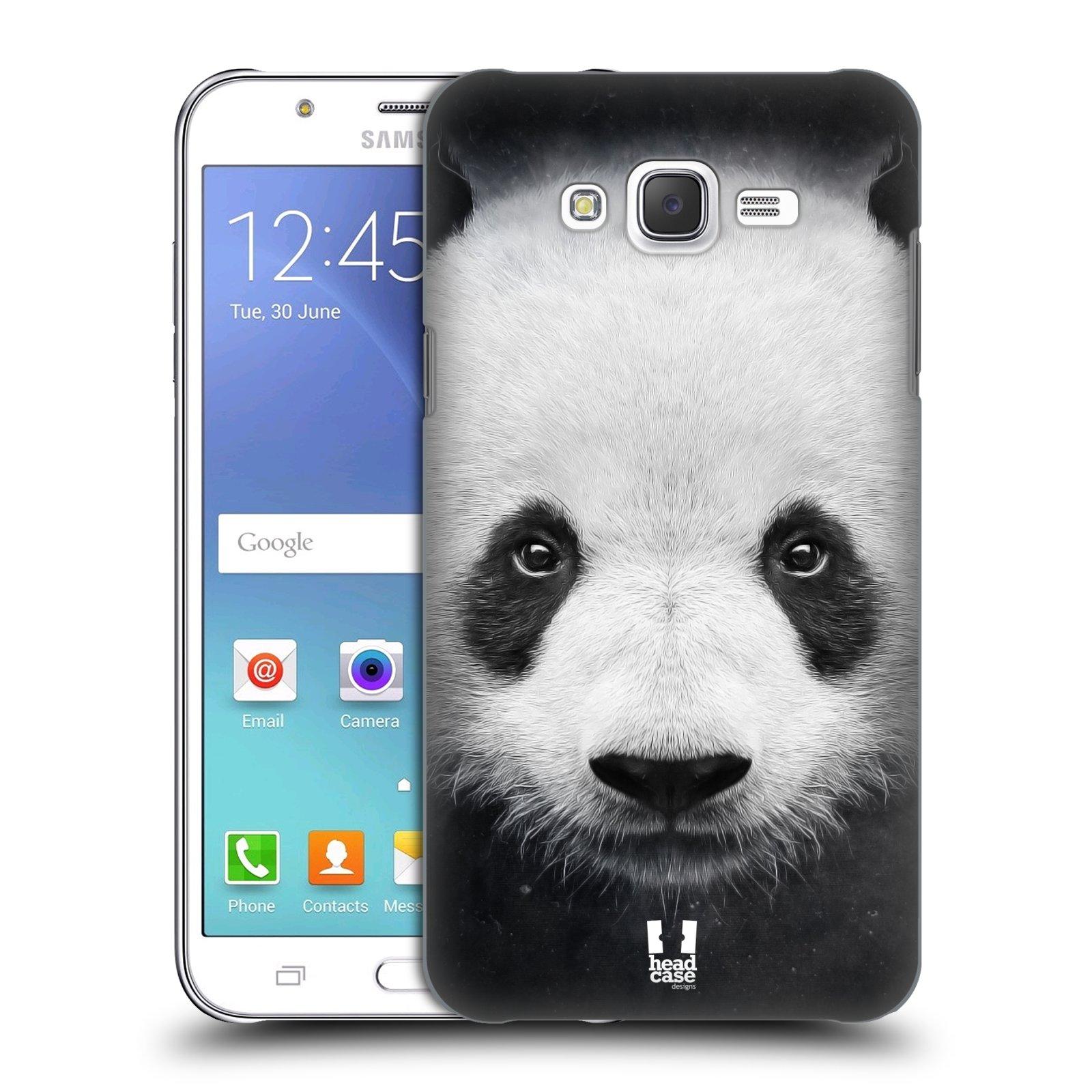 HEAD CASE plastový obal na mobil SAMSUNG Galaxy J7, J700 vzor Zvířecí tváře medvěd panda