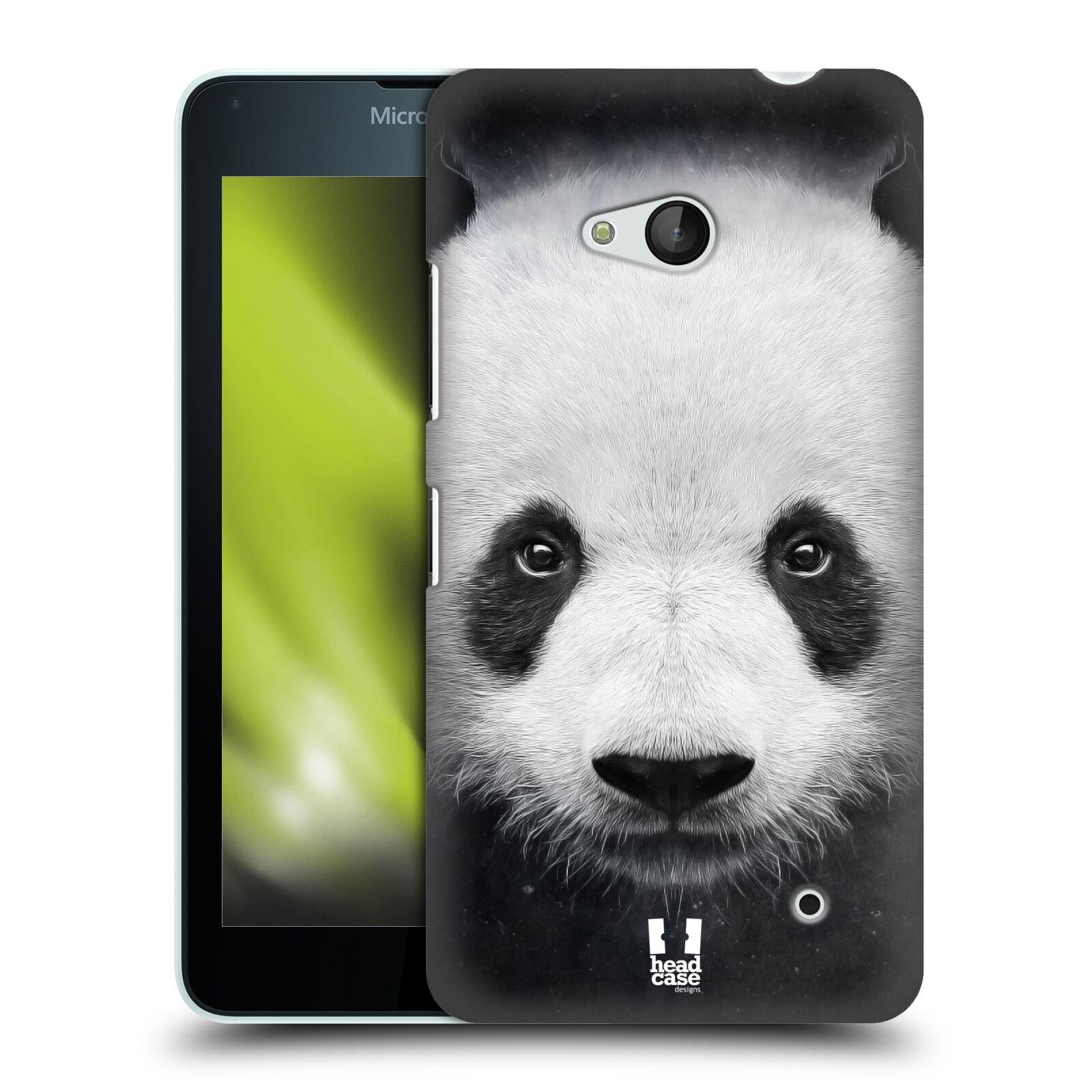 HEAD CASE plastový obal na mobil Nokia Lumia 640 vzor Zvířecí tváře medvěd panda