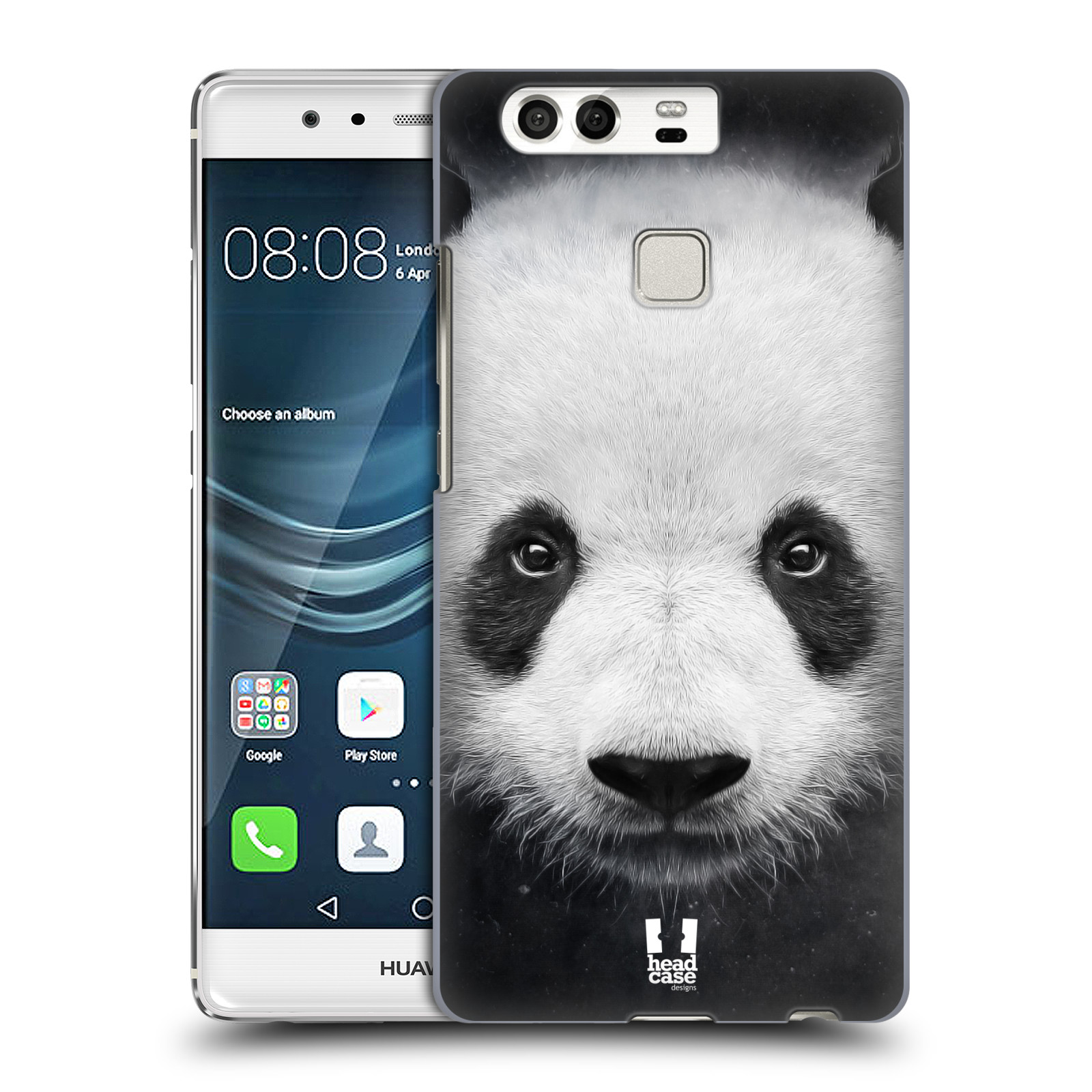 HEAD CASE plastový obal na mobil Huawei P9 / P9 DUAL SIM vzor Zvířecí tváře medvěd panda