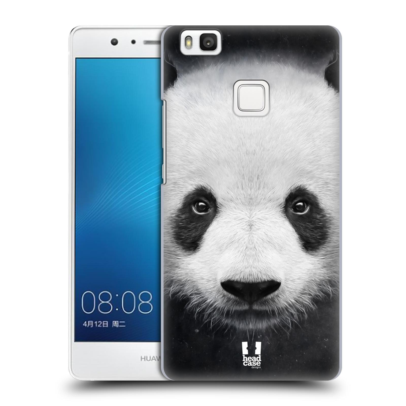 HEAD CASE plastový obal na mobil Huawei P9 LITE / P9 LITE DUAL SIM vzor Zvířecí tváře medvěd panda